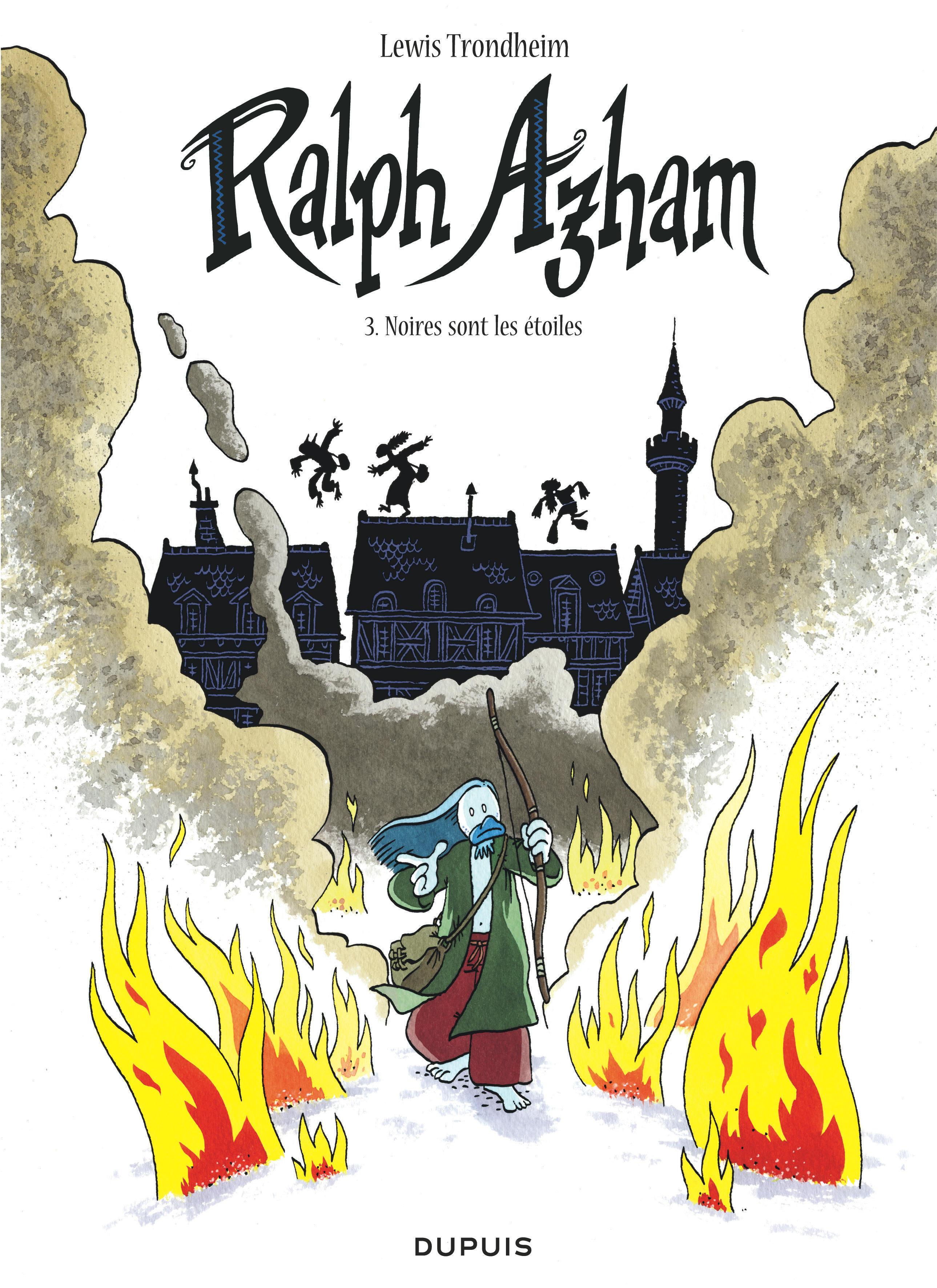 RALPH AZHAM - TOME 3 - NOIRES SONT LES ETOILES