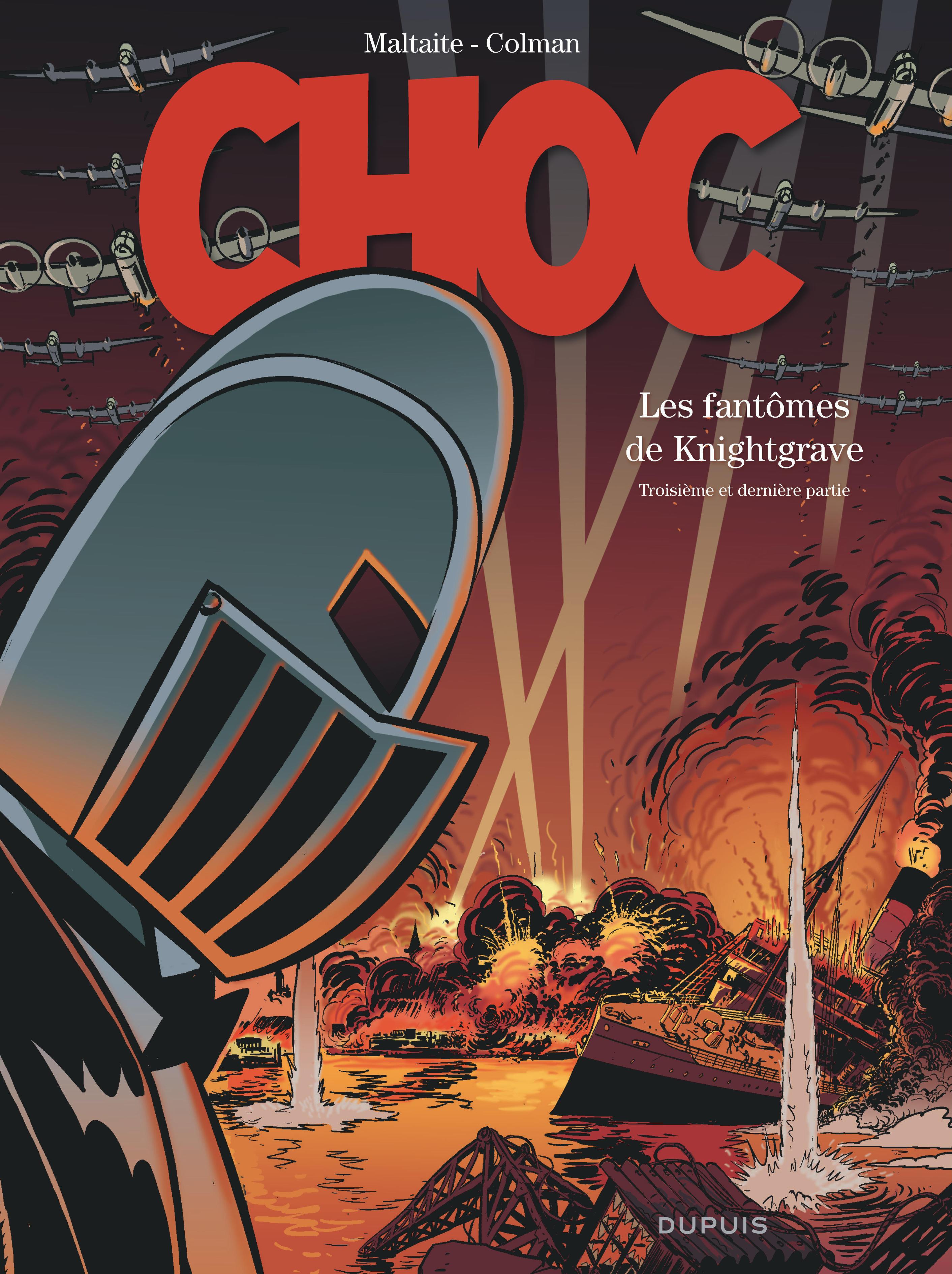 CHOC - TOME 3 - LES FANTOMES DE KNIGHTGRAVE (TROISIEME PARTIE)