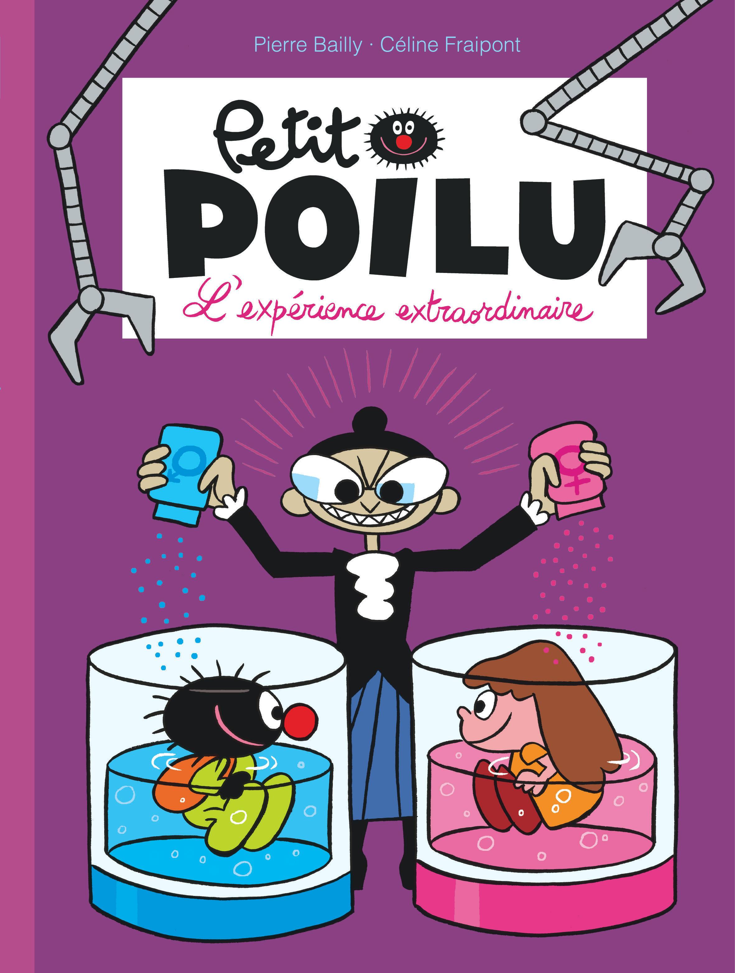PETIT POILU - TOME 15 - L'EXPERIENCE EXTRAORDINAIRE