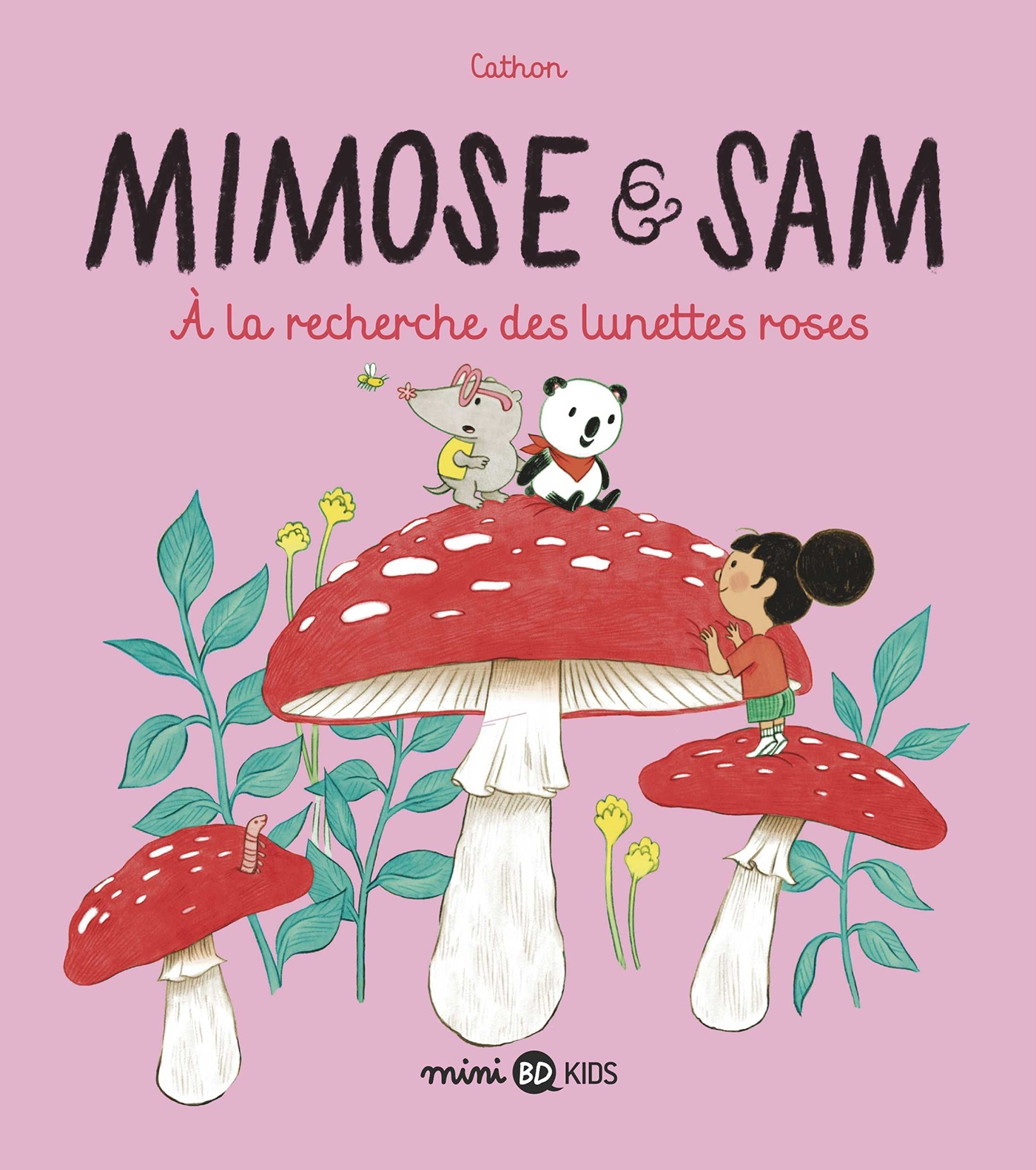 MIMOSE ET SAM, TOME 02 - A LA RECHERCHE DES LUNETTES ROSES