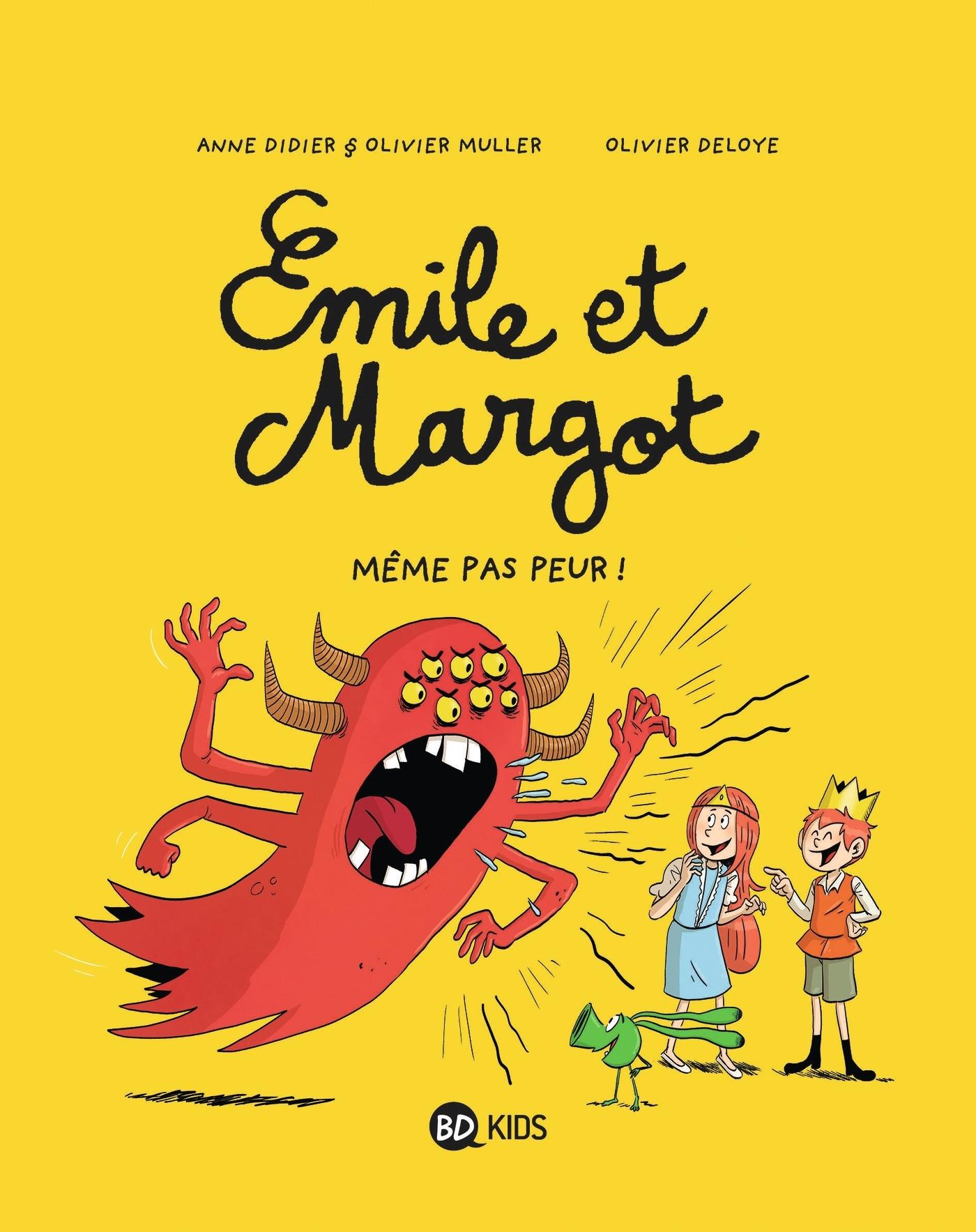 EMILE ET MARGOT, TOME 09 - MEME PAS PEUR !