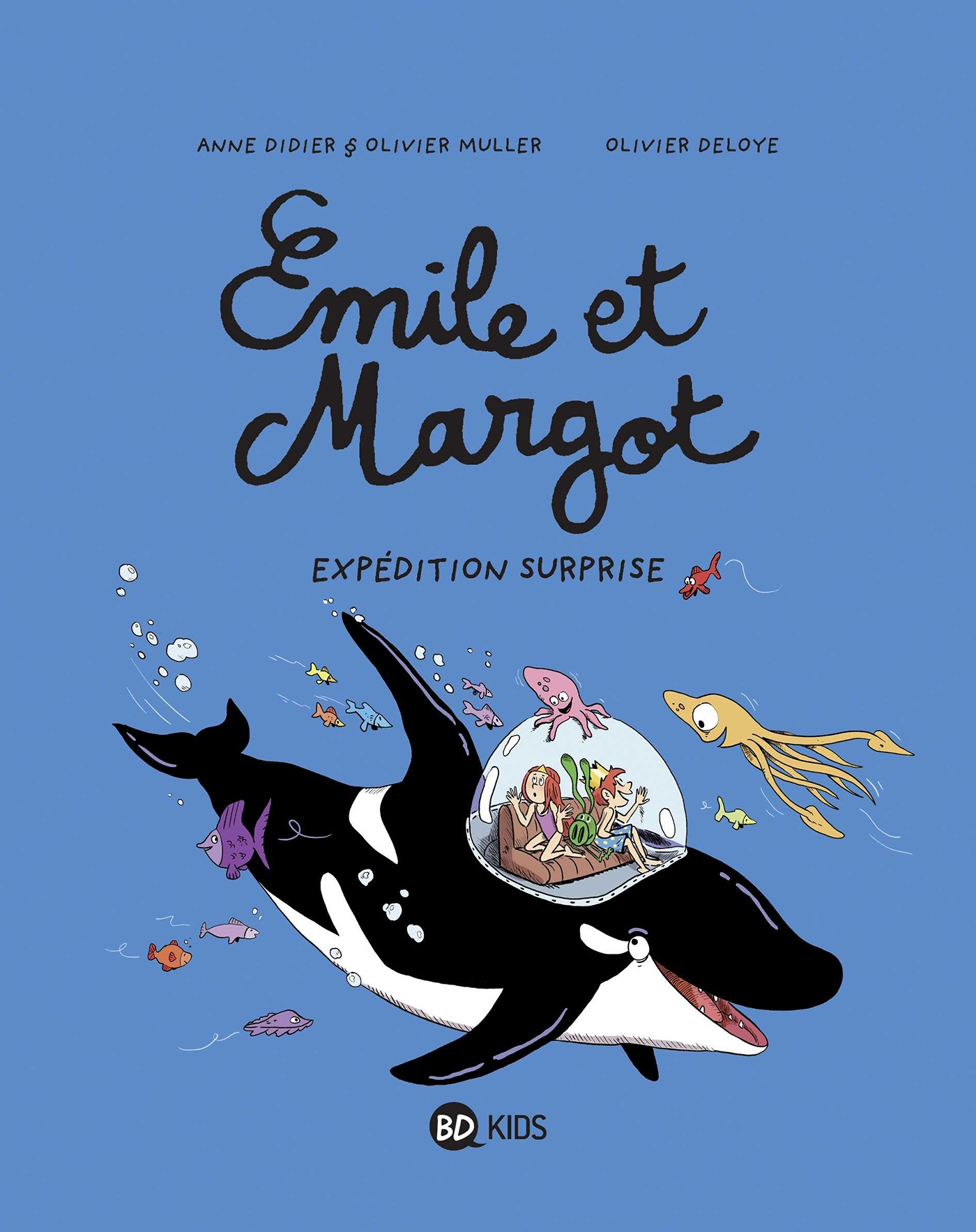 EMILE ET MARGOT, TOME 10 - EXPEDITION SURPRISE