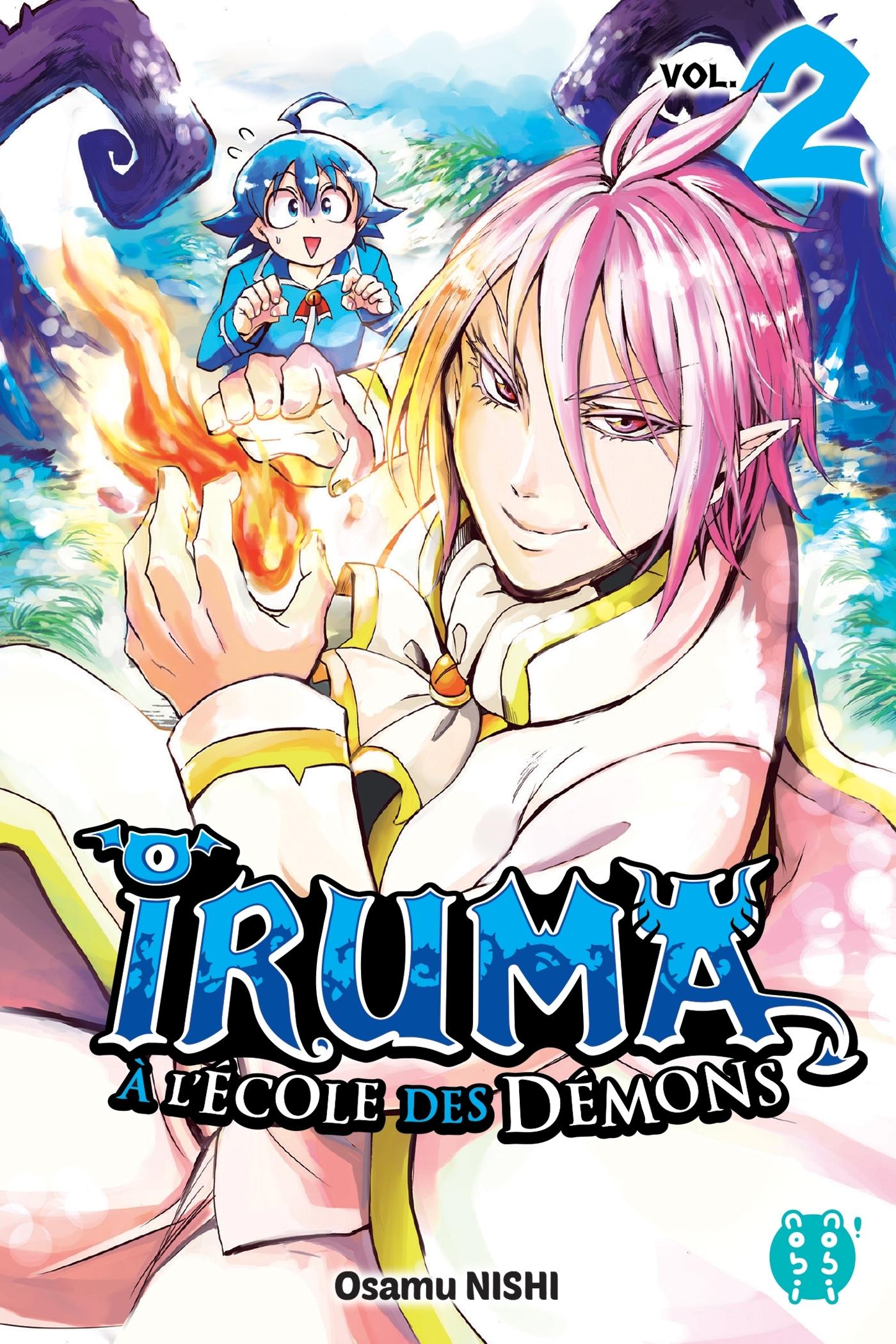IRUMA A L'ECOLE DES DEMONS T02