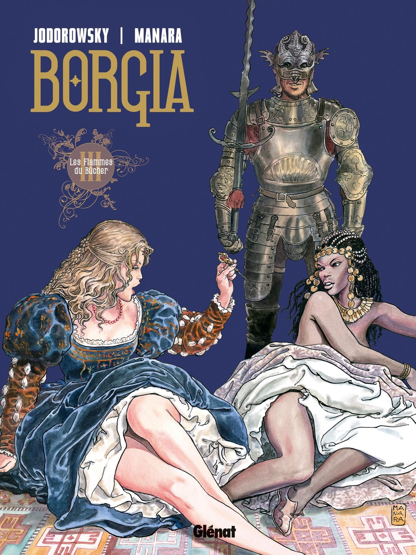 BORGIA - TOME 03 - LES FLAMMES DU BUCHER