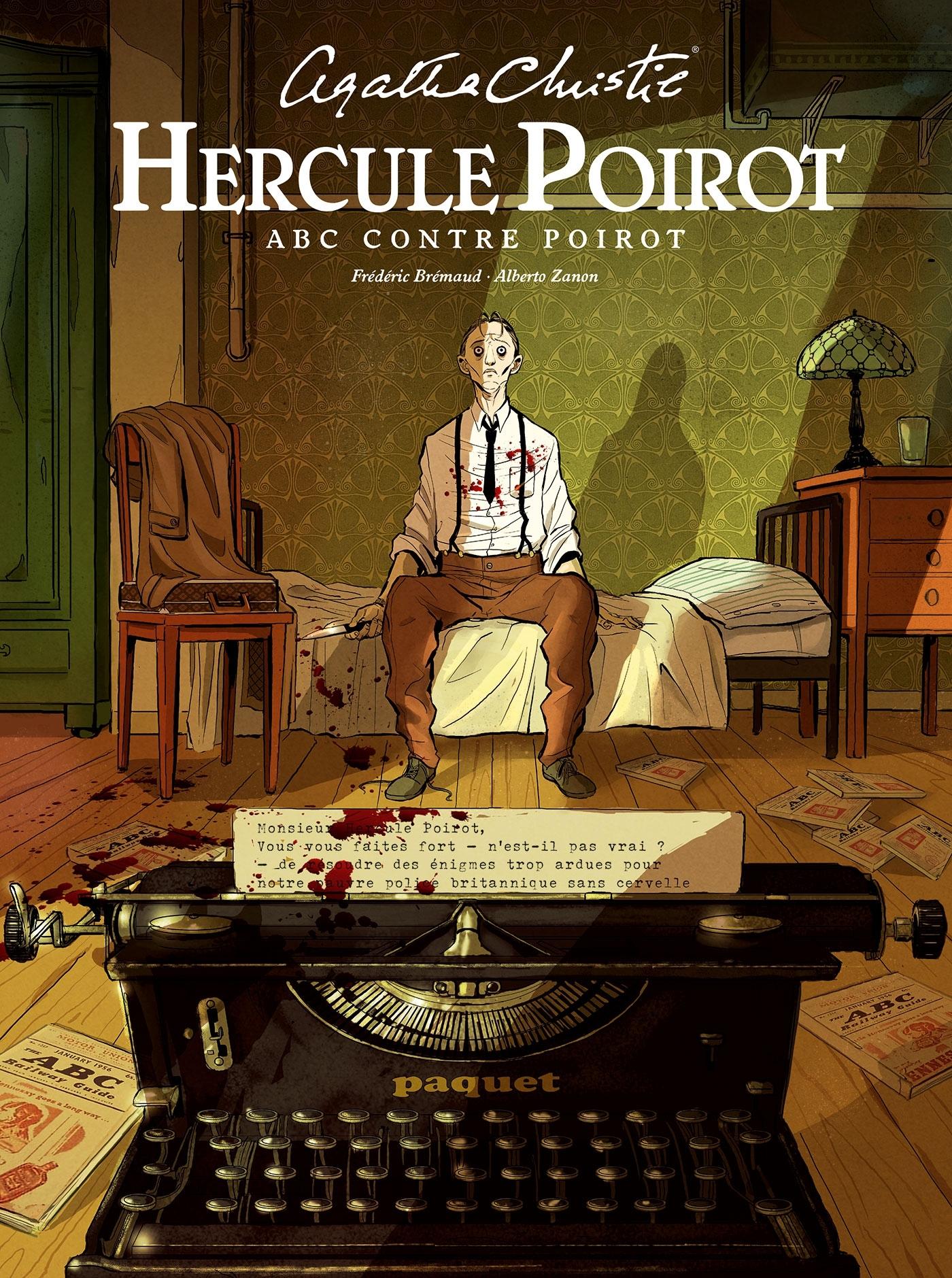 HERCULE POIROT - HISTOIRE COMPLETE - A.B.C. CONTRE POIROT - HERCULE POIROT