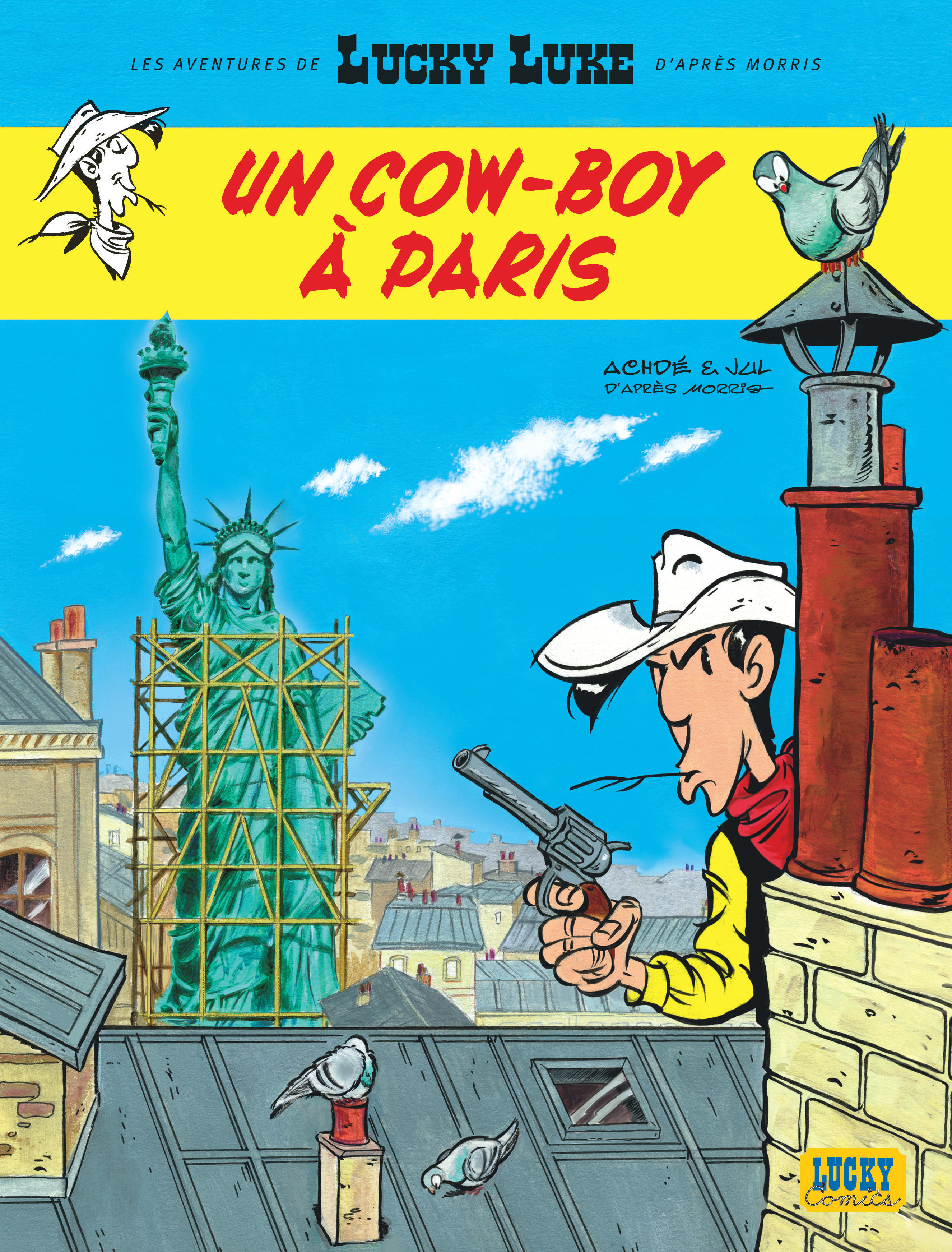 AVENTURES DE LUCKY LUKE D'APRES MORRIS (LES) - TOME 8 - UN COW-BOY A PARIS - NLLES AVENT LUCKY LUKE