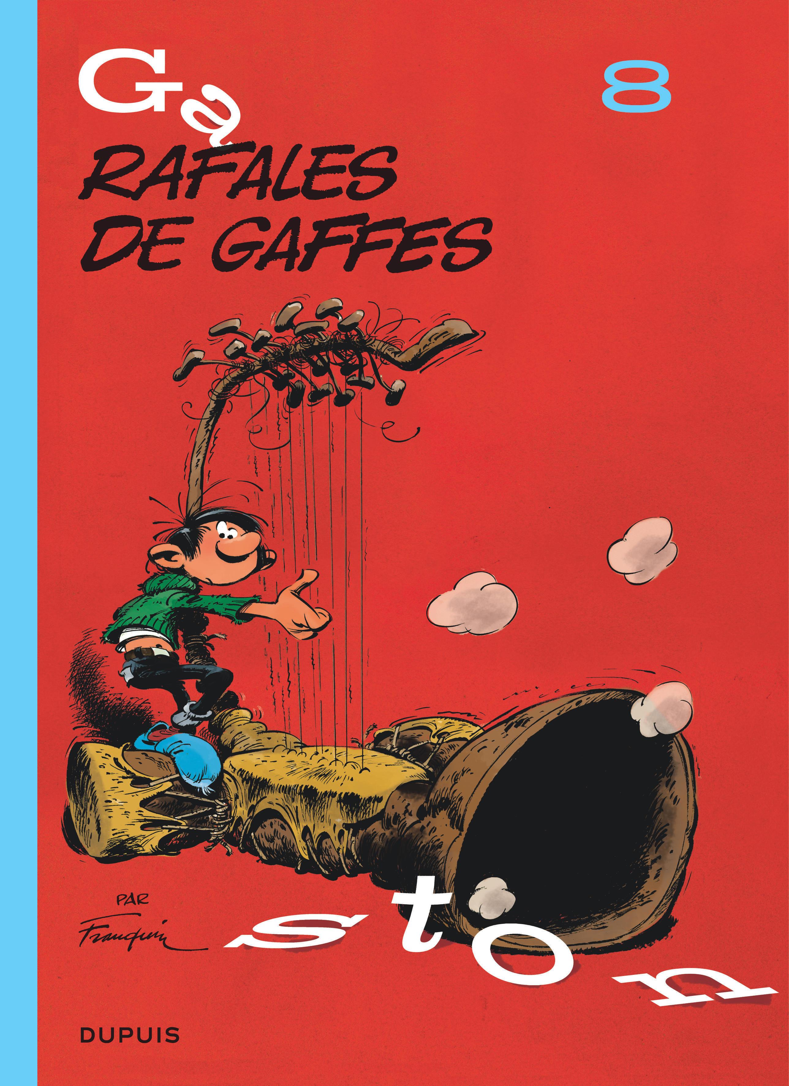 GASTON (EDITION 2018) - TOME 8 - RAFALES DE GAFFES