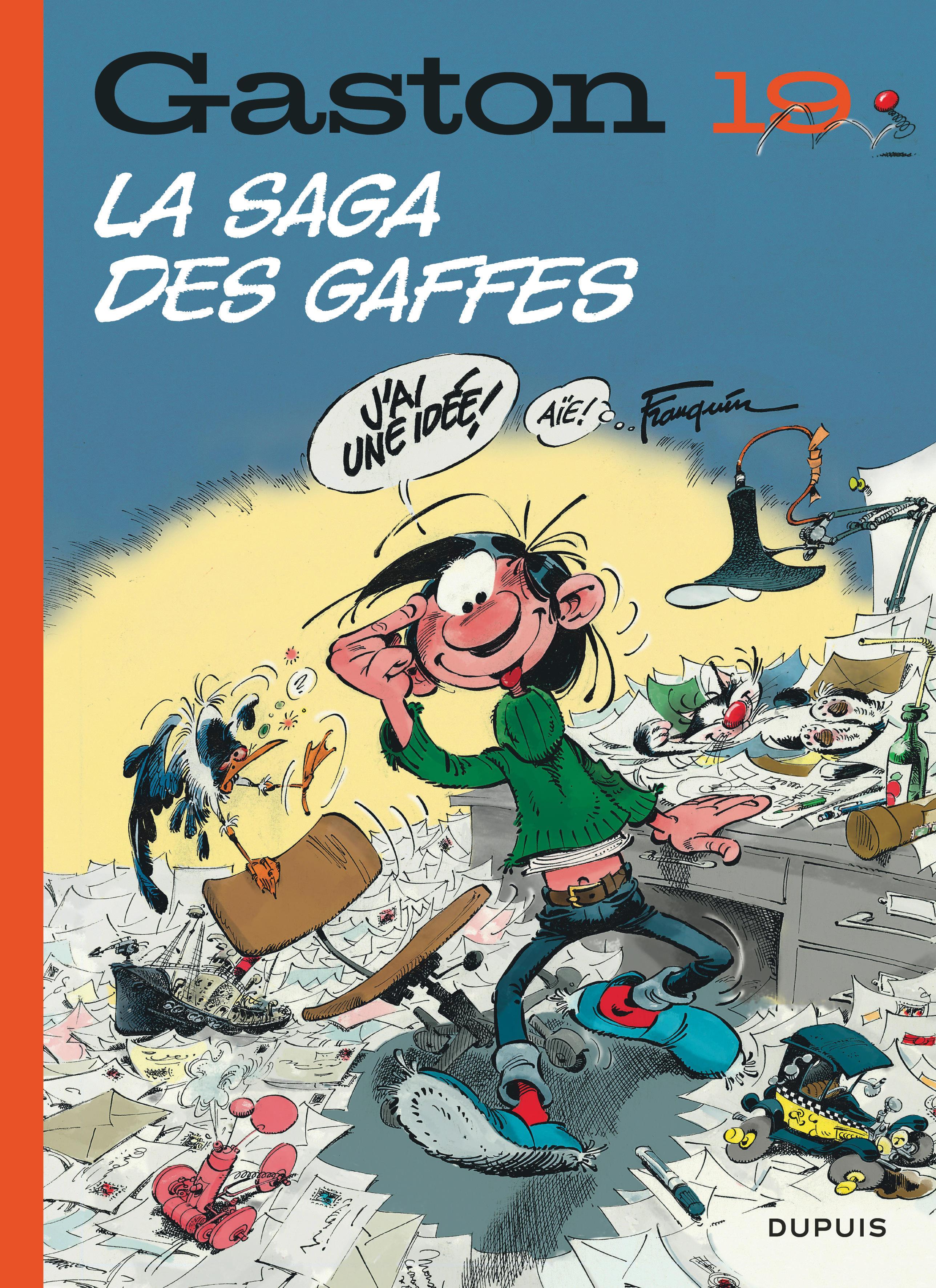 GASTON (EDITION 2018) - TOME 19 - LA SAGA DES GAFFES