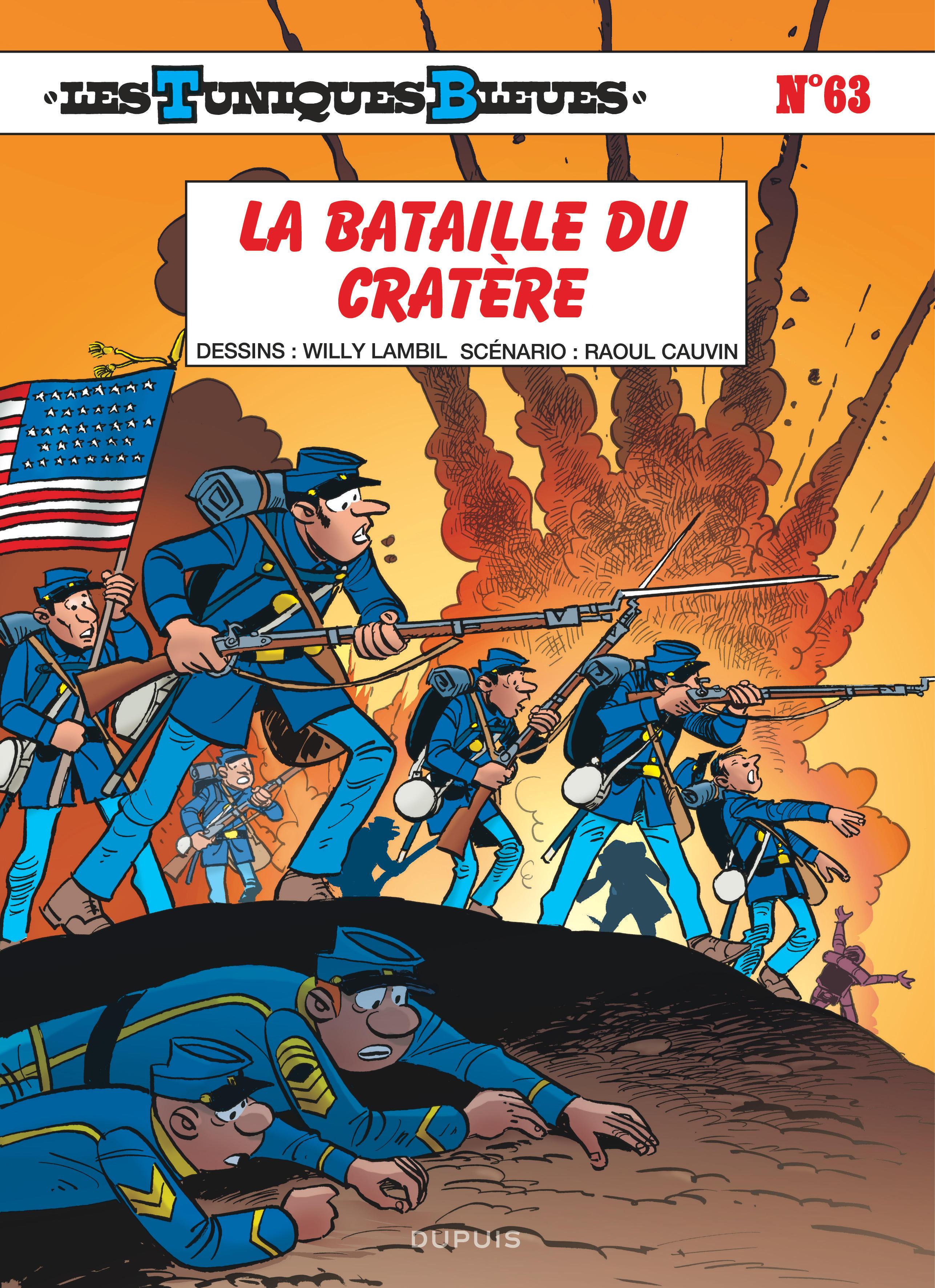 LES TUNIQUES BLEUES - TOME 63 - LA BATAILLE DU CRATERE