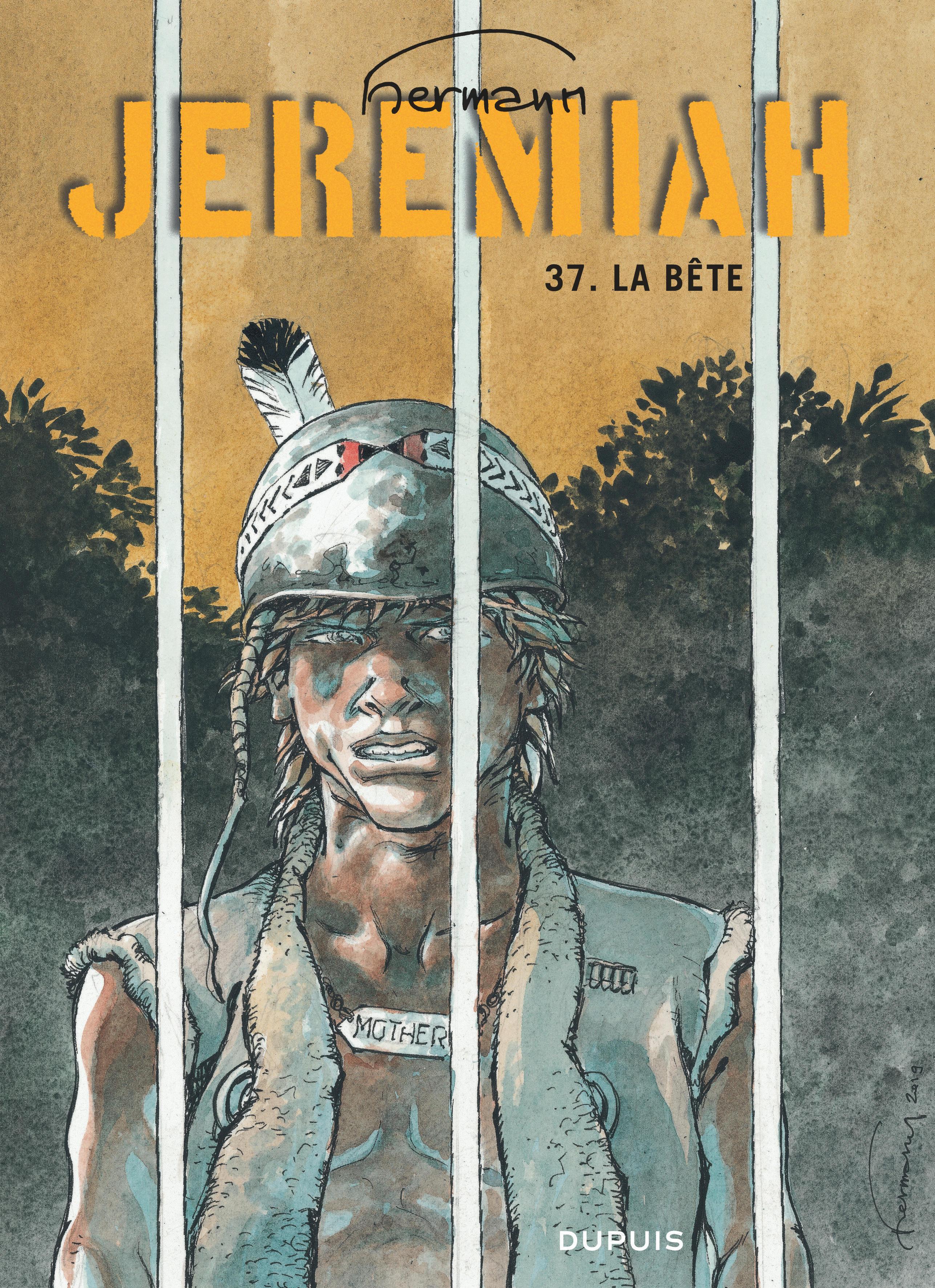JEREMIAH (DUPUIS) - JEREMIAH - TOME 37 - LA BETE