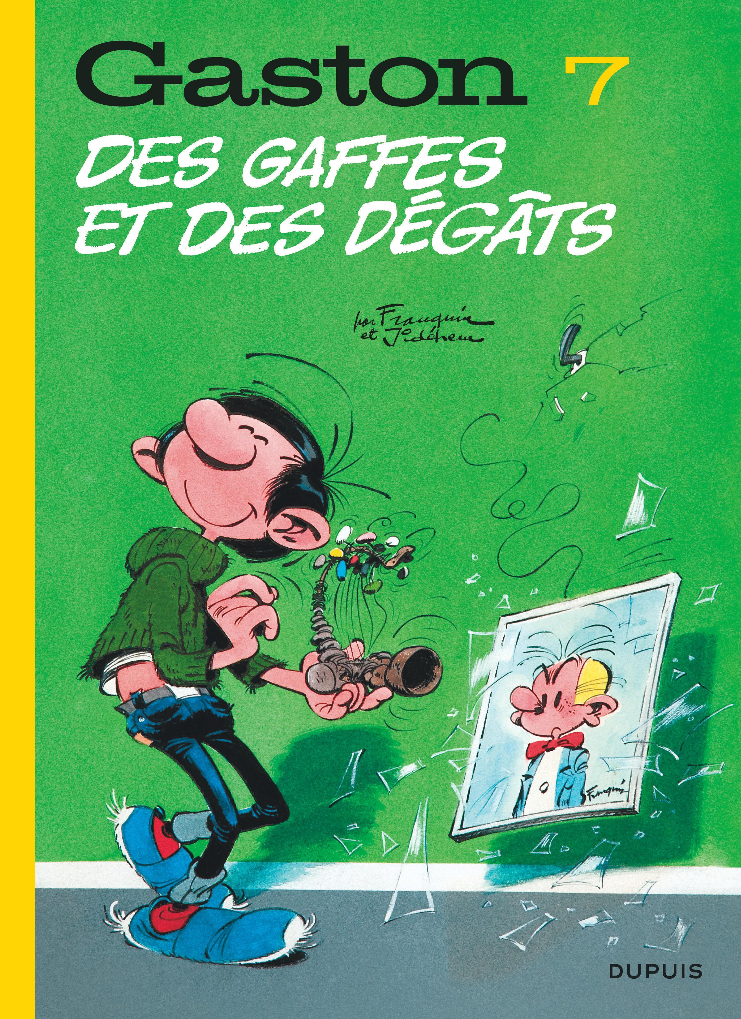 GASTON (EDITION 2018) - TOME 7 - DES GAFFES ET DES DEGATS