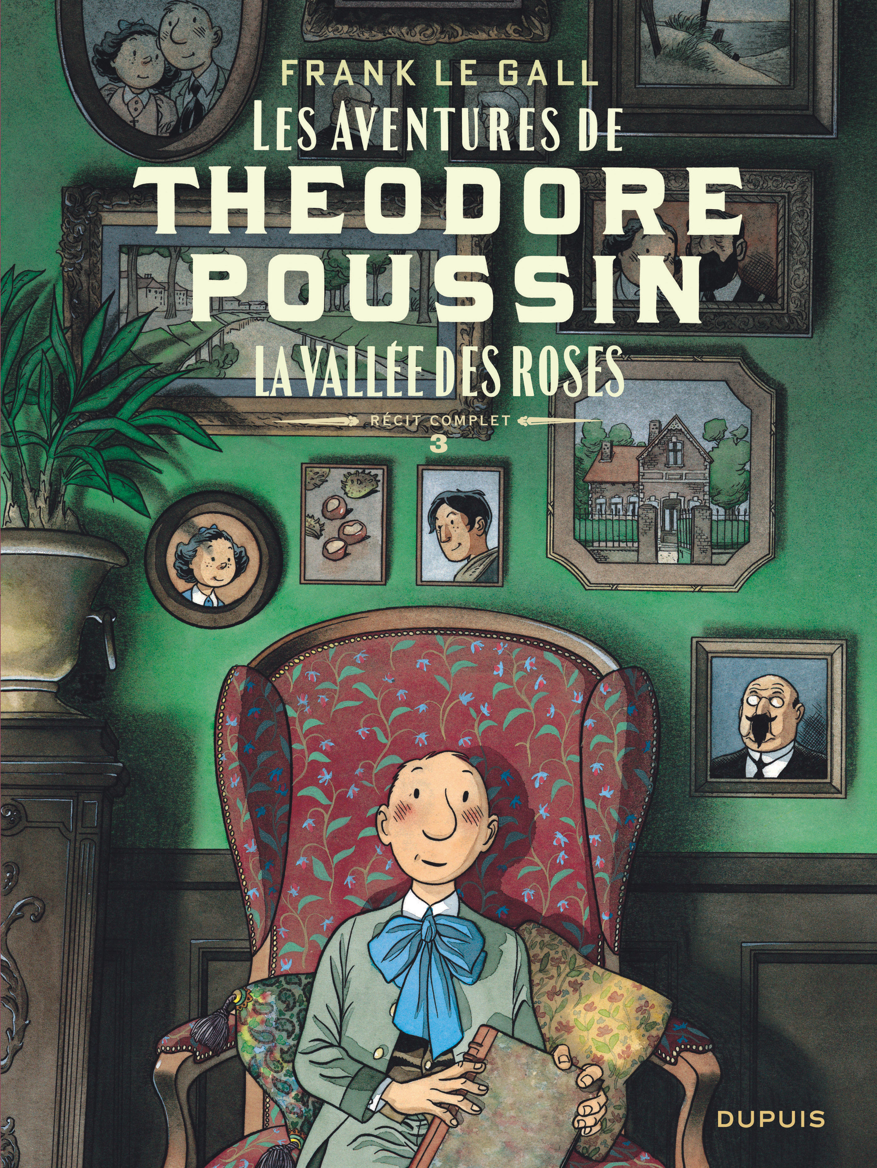 THEODORE POUSSIN  RECITS COMP - THEODORE POUSSIN  RECITS COMPLETS - TOME 3 - LA VALLEE DES ROSES