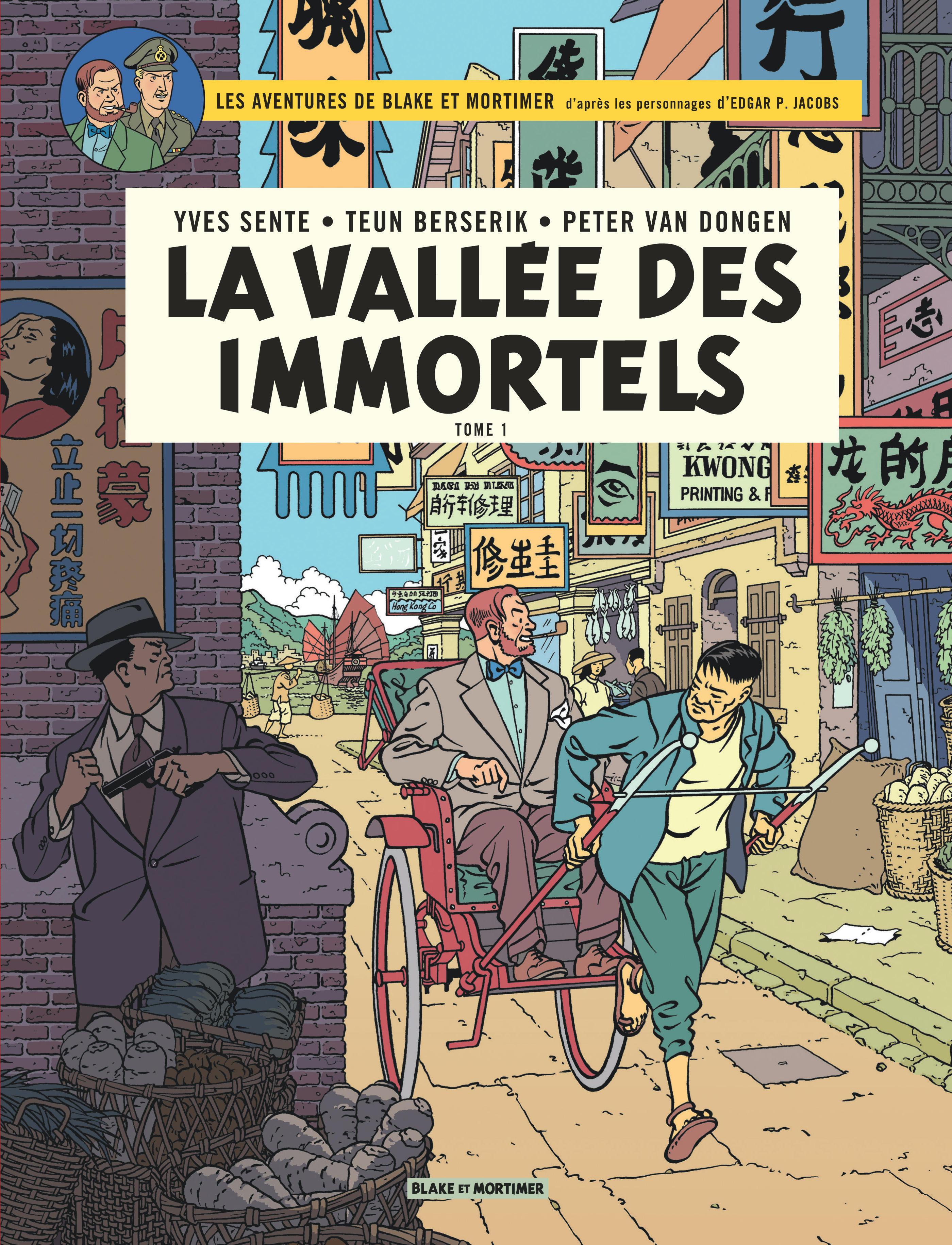 BLAKE ET MORTIMER - T25 - VALLEE DES IMMORTELS (LA) - TOME 1 - MENACE SUR HON