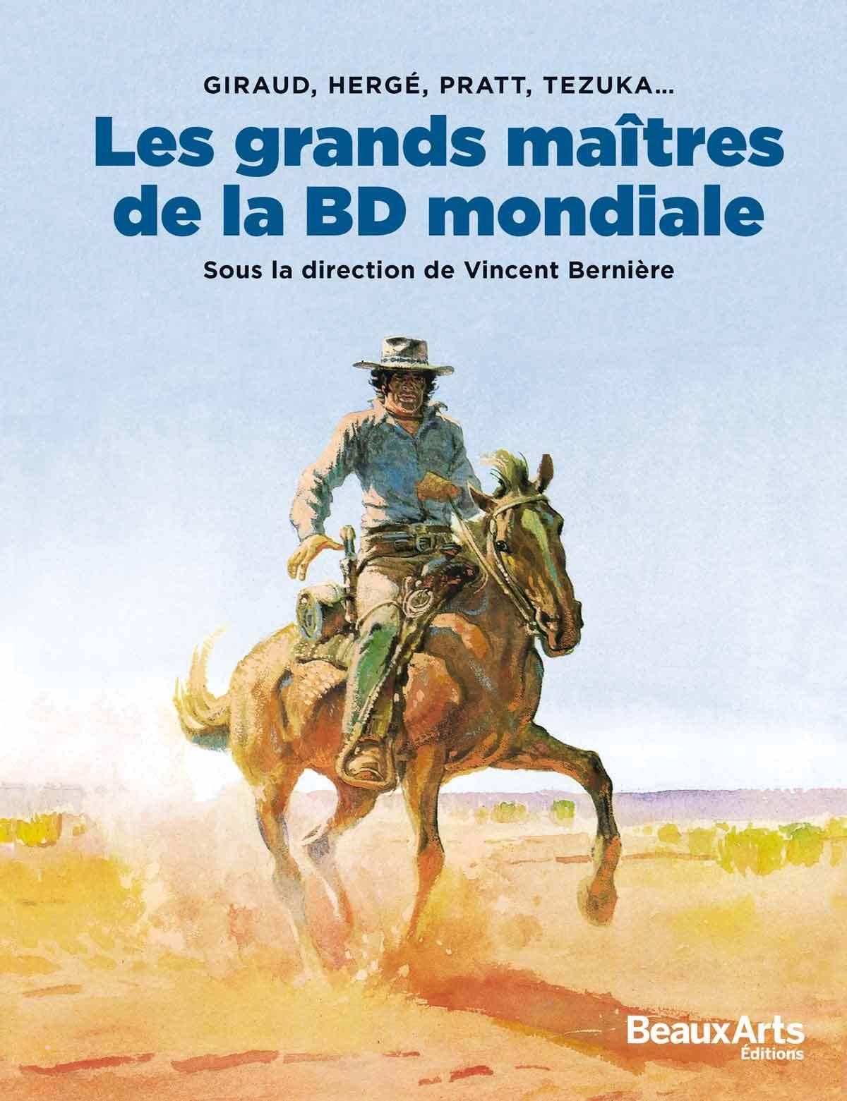 LES GRANDS MAITRES DE LA BD MONDIALE - GIRAUD,HERGE,PRATT,TEZUKA...