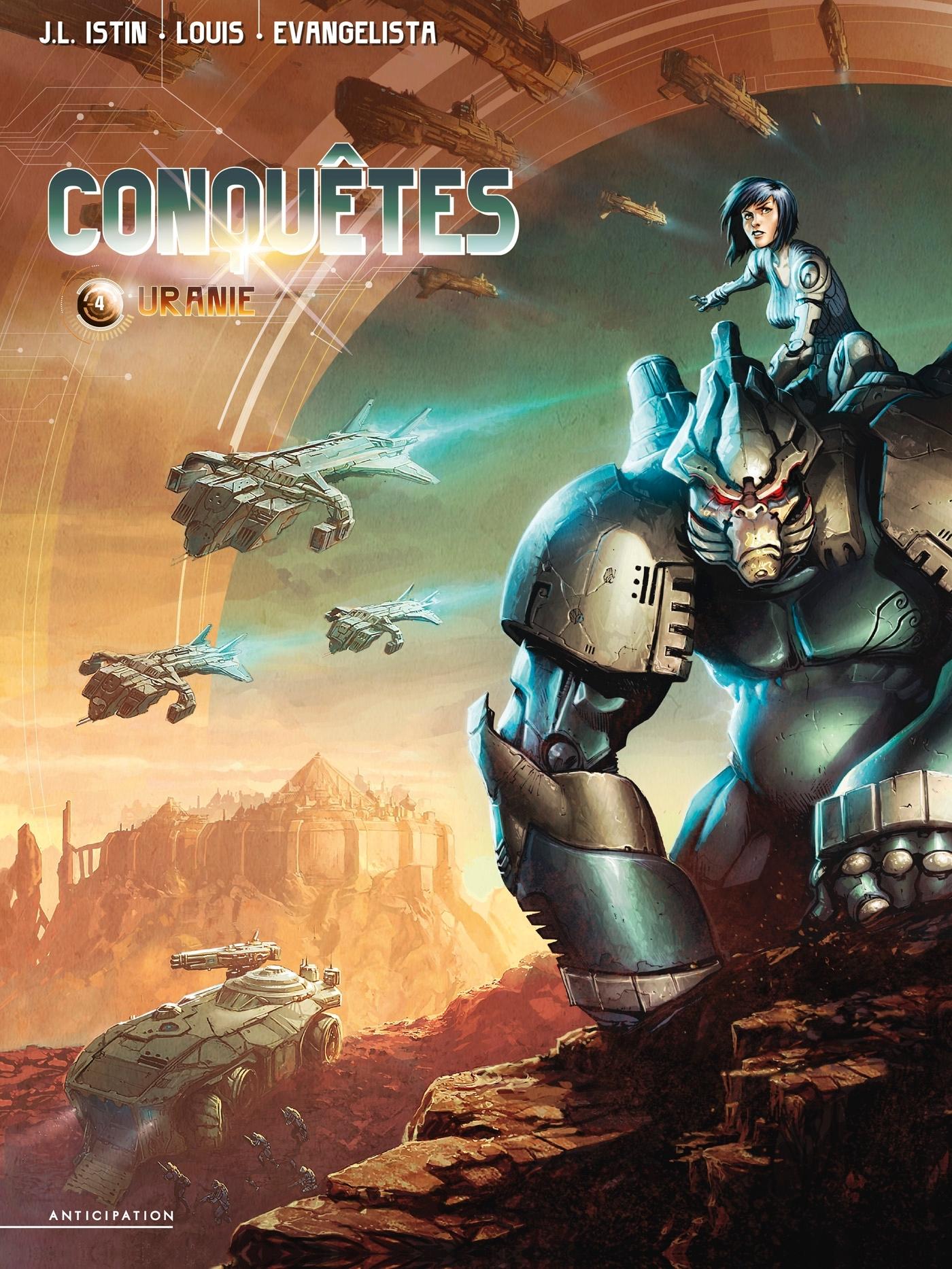 CONQUETES T04 - URANIE