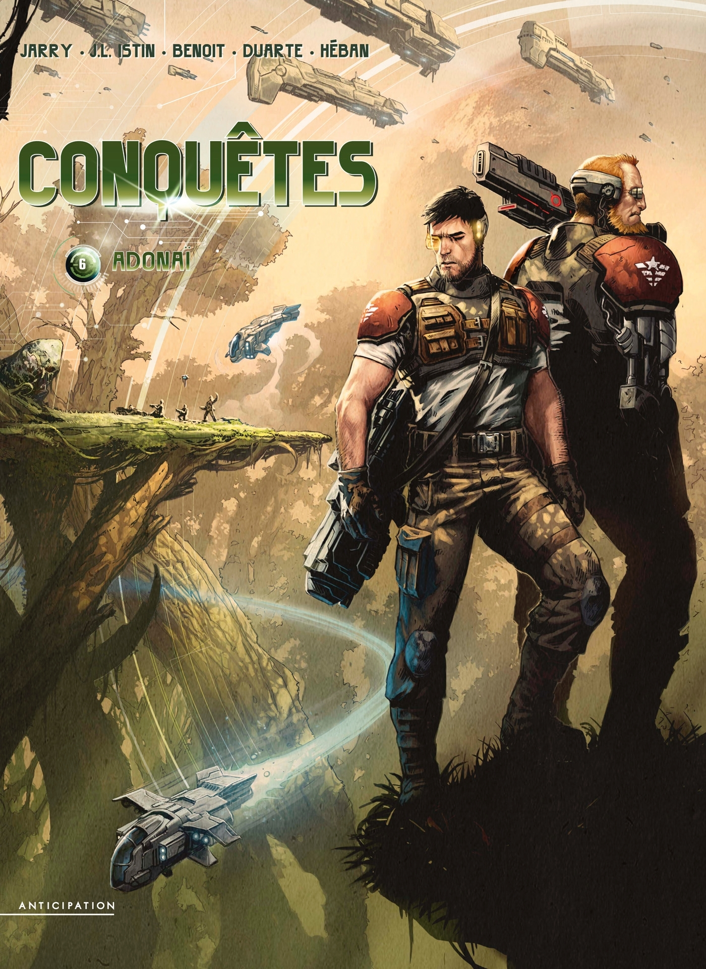 CONQUETES T06 - ADONAI