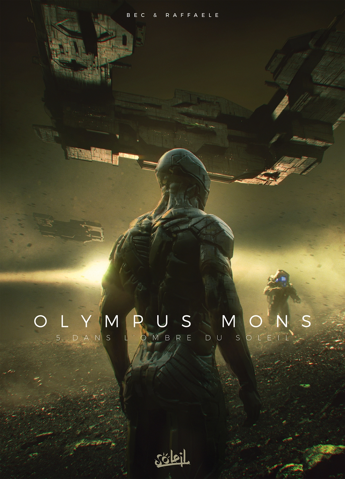 OLYMPUS MONS - T05 - OLYMPUS MONS 05 - DANS L'OMBRE DU SOLEIL