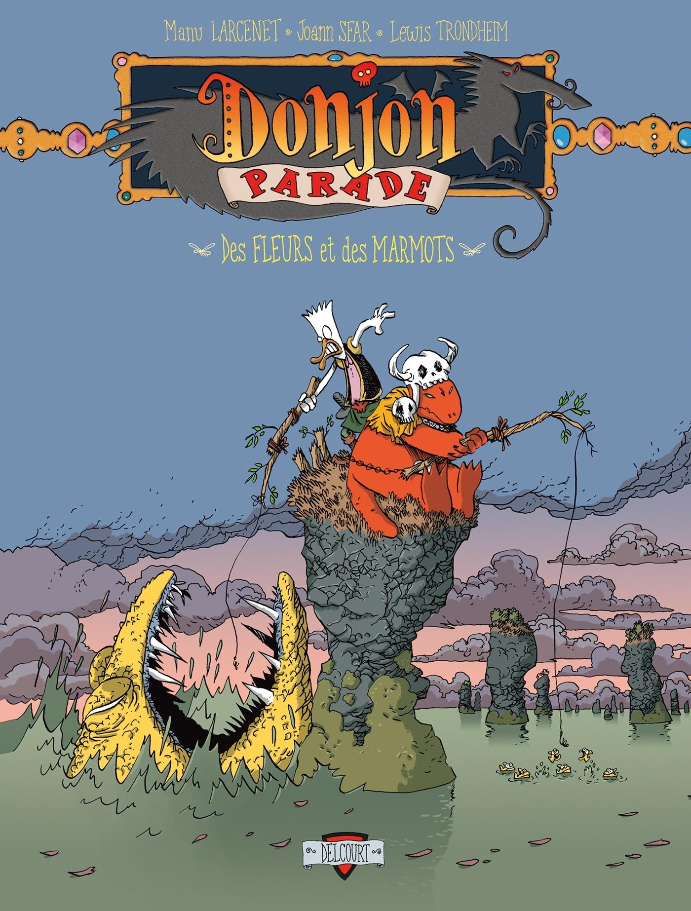 DONJON PARADE - TOME 4 - DES FLEURS ET DES MARMOTS