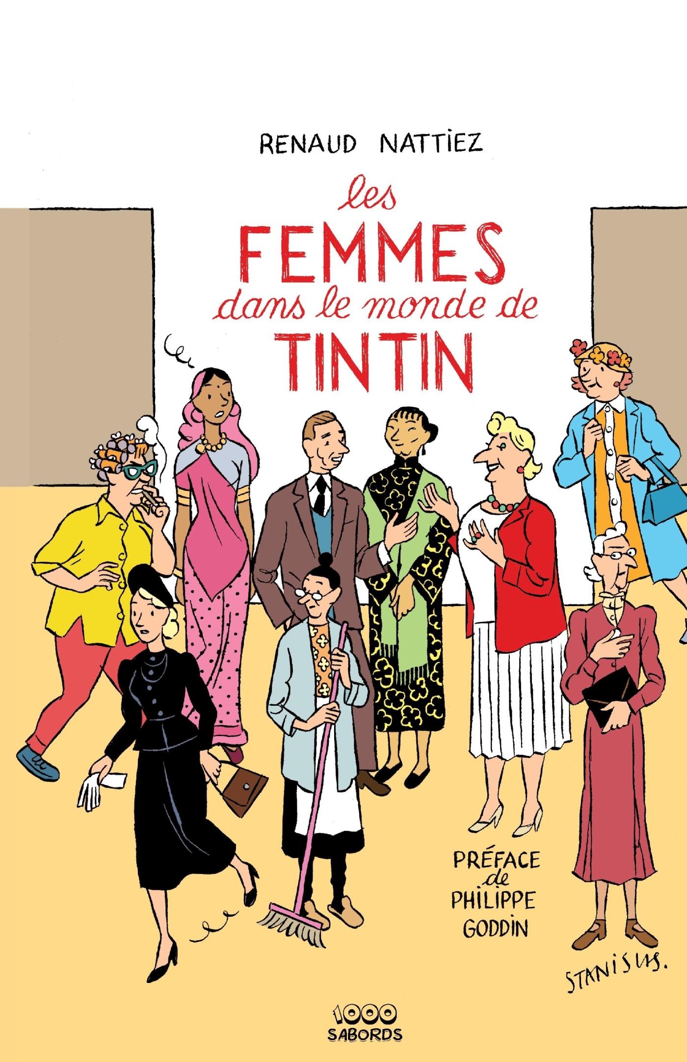 LES FEMMES DANS LE MONDE DE TINTIN