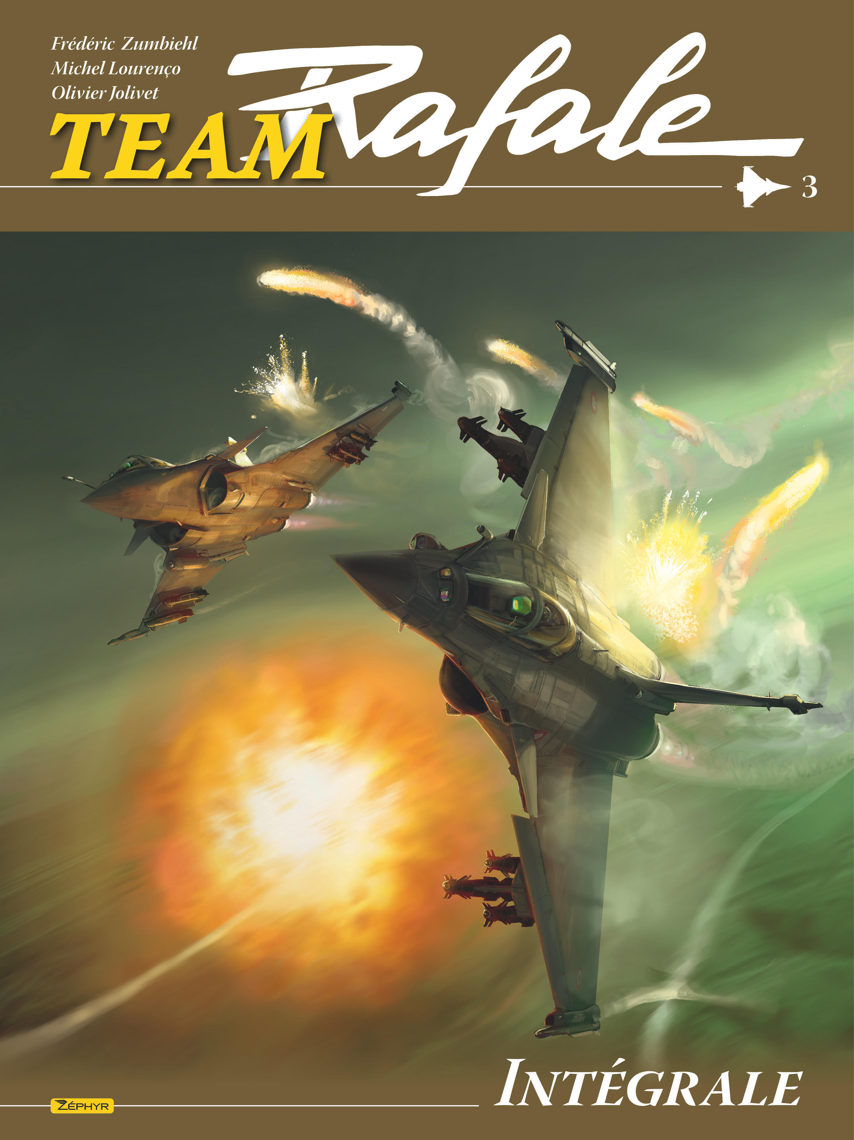 BANDE DESSINEE - TEAM RAFALE INTEGRALE - TOME 3