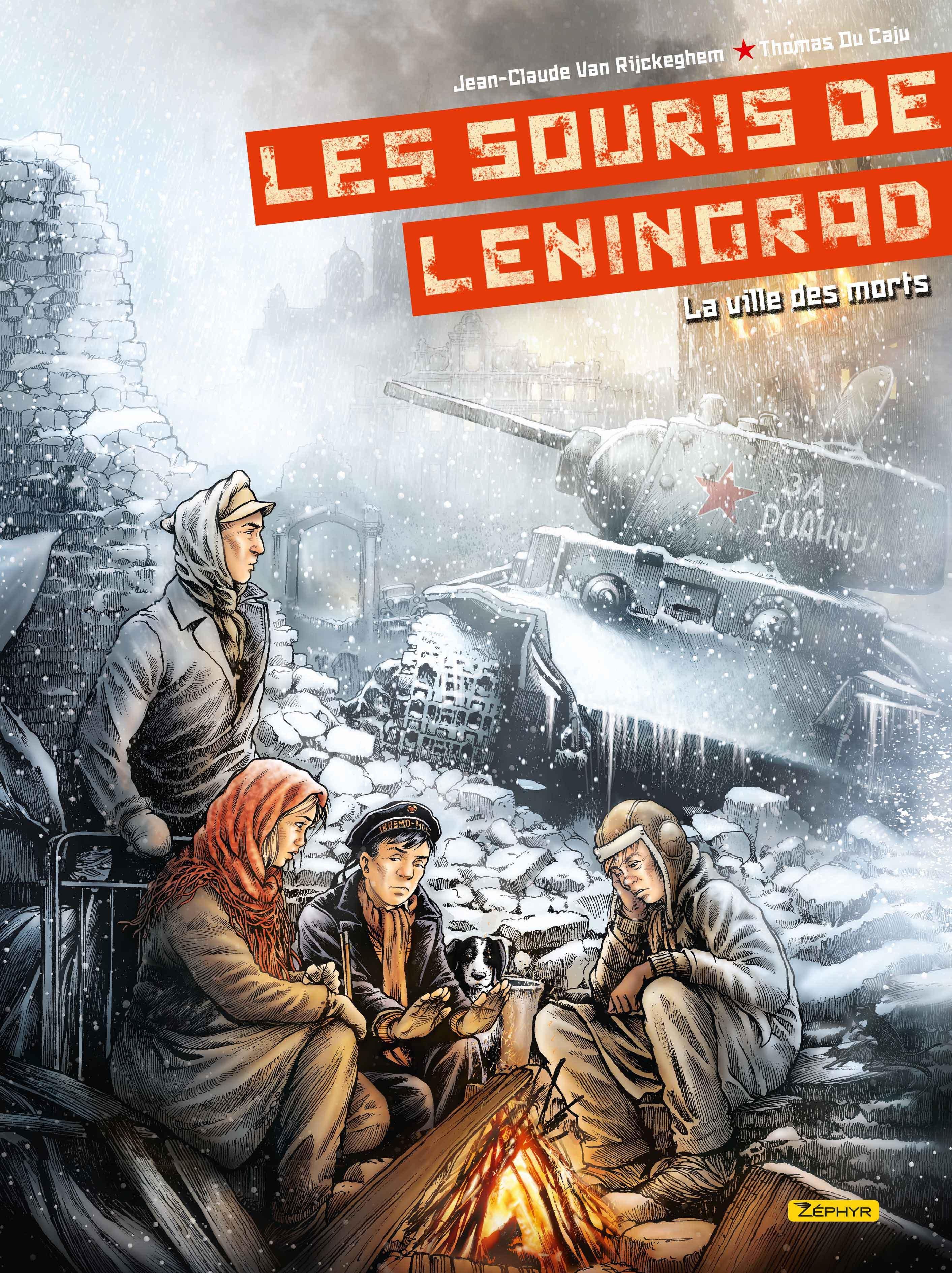 BANDE DESSINEE - LES SOURIS DE LENINGRAD  - TOME 2 - LA VILLE DES MORTS 2/2