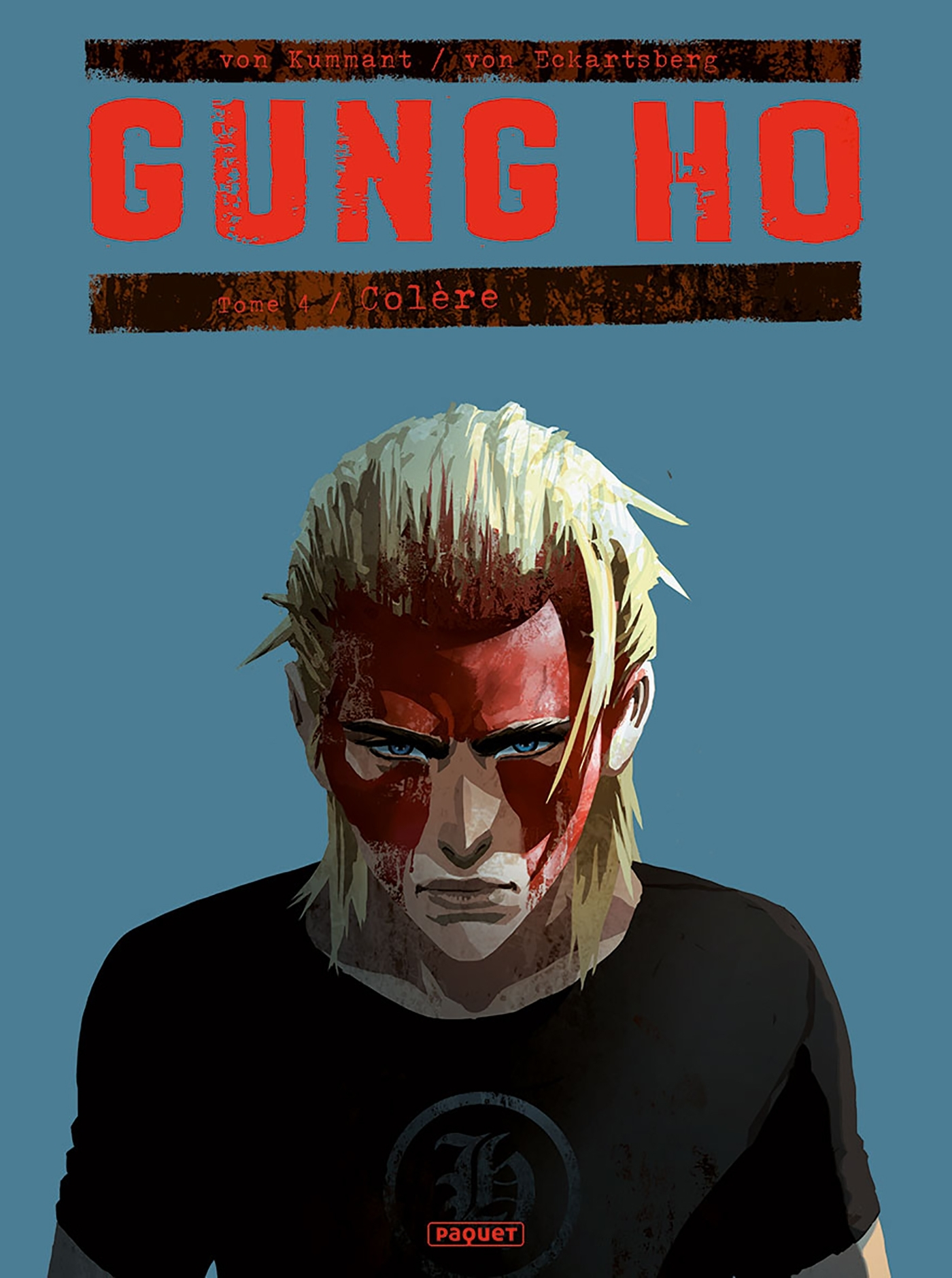 GUNG HO TOME 4 - T4 - COLERE