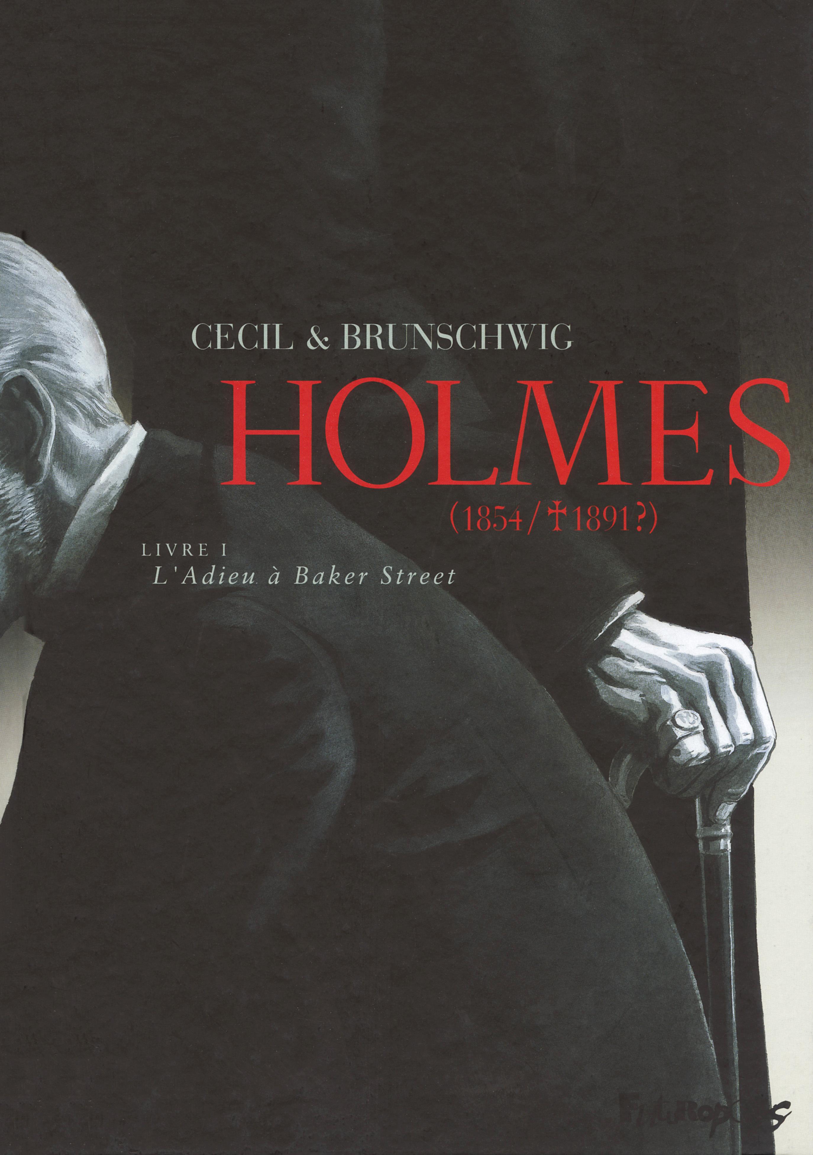 HOLMES (TOME 1-L'ADIEU A BAKER STREET) - (1854/  1891 ?)