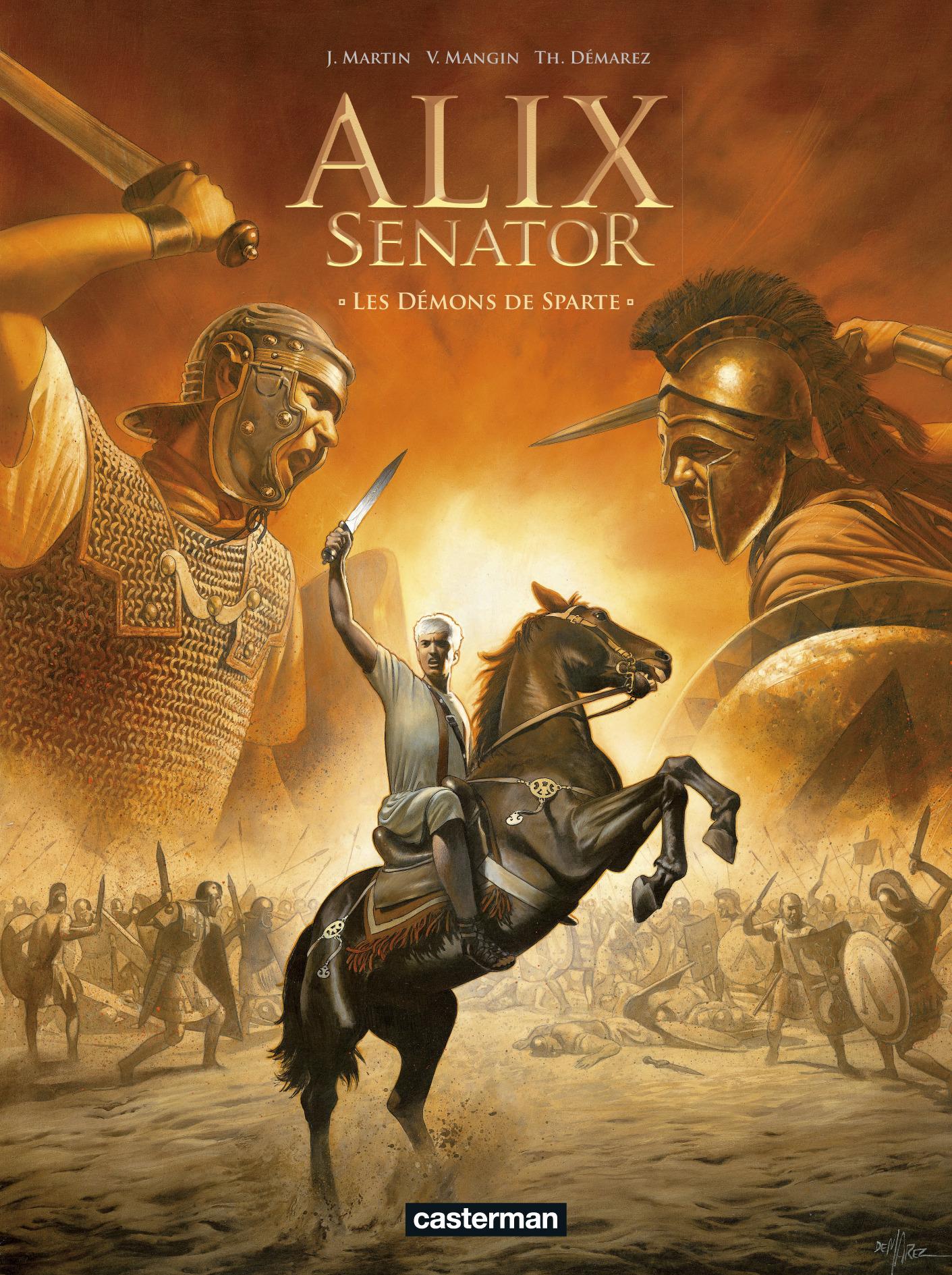 ALIX SENATOR - T04 - LES DEMONS DE SPARTE