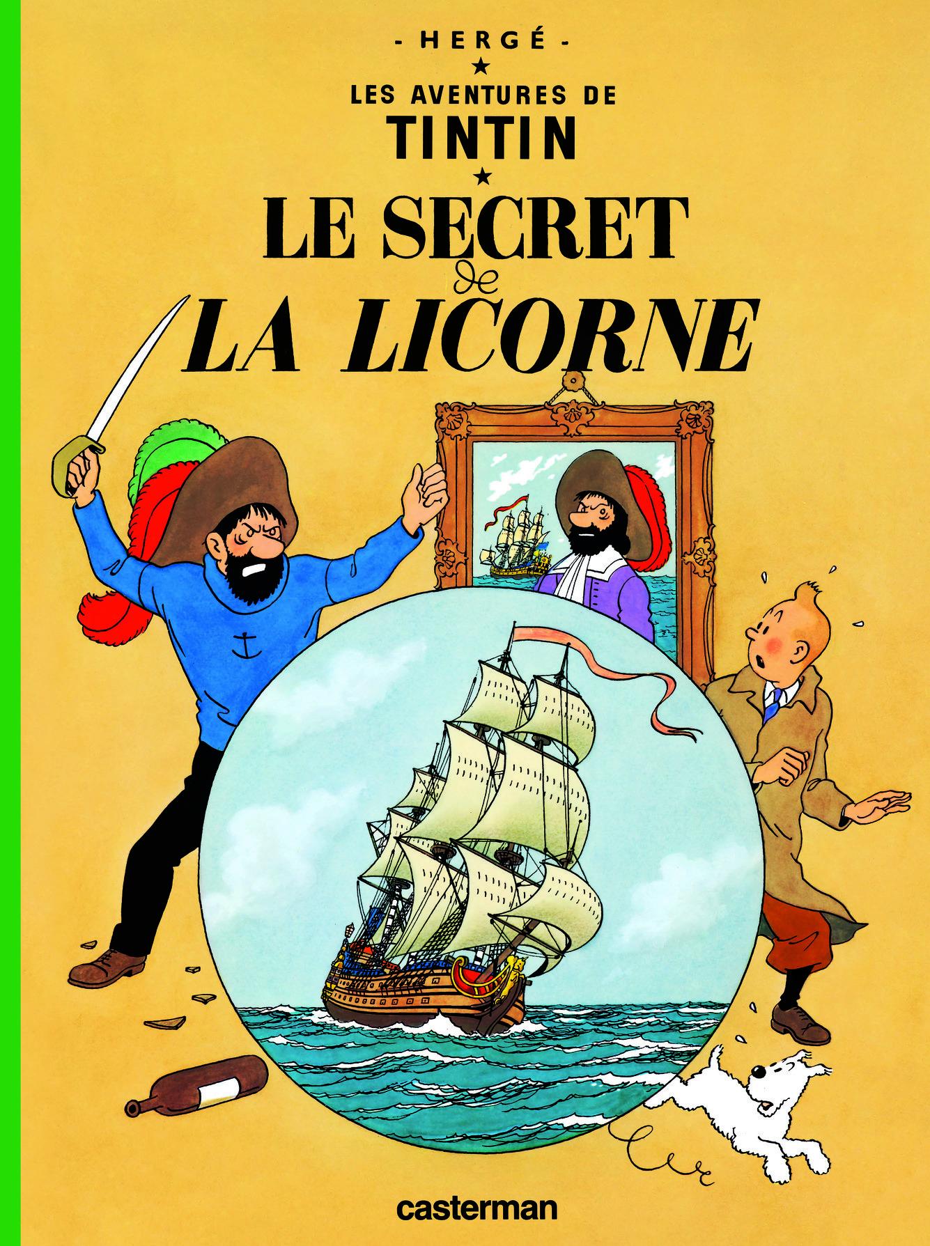 TINTIN - T11 - LE  SECRET DE LA LICORNE