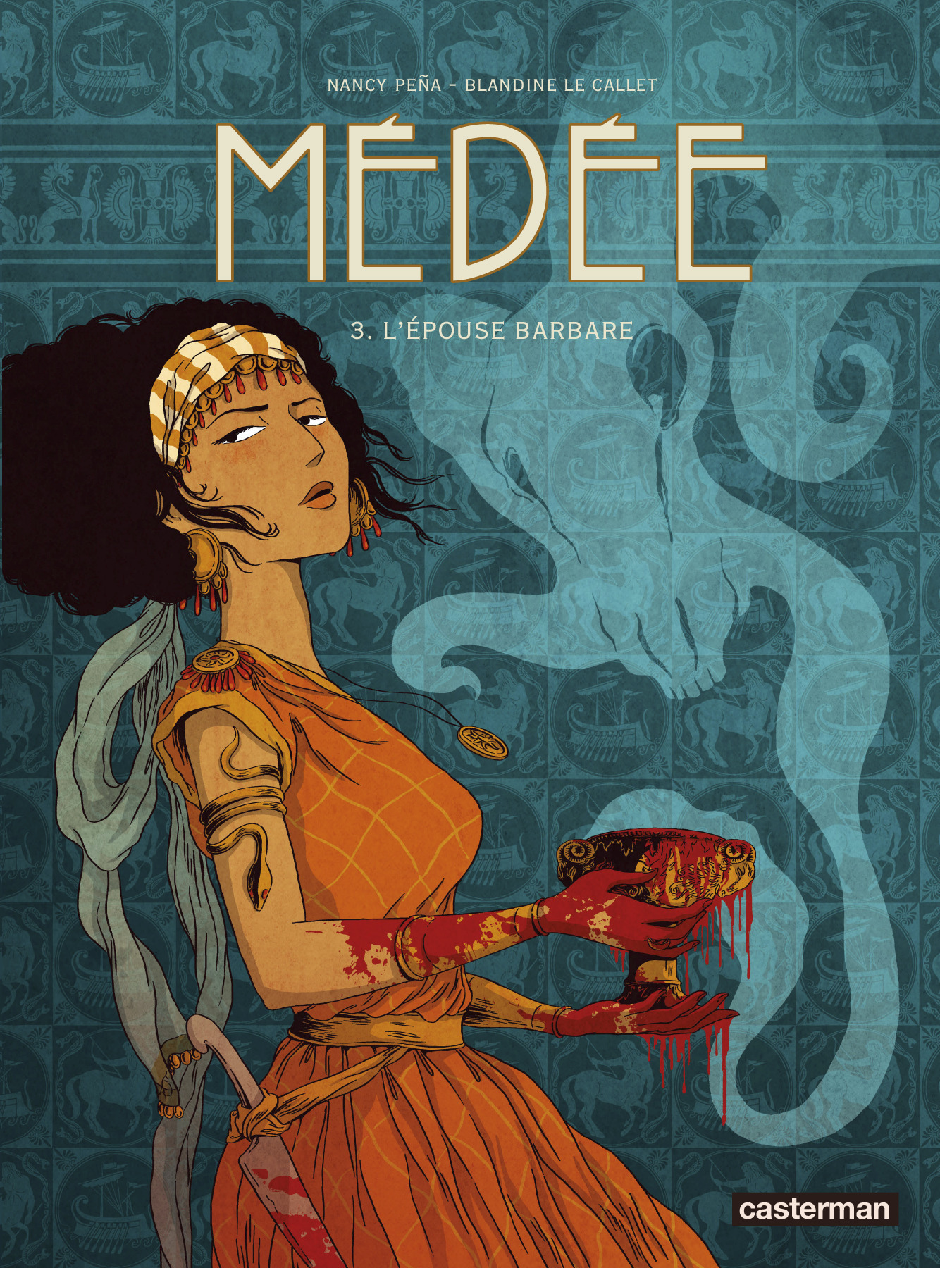MEDEE - T03 - L'EPOUSE BARBARE