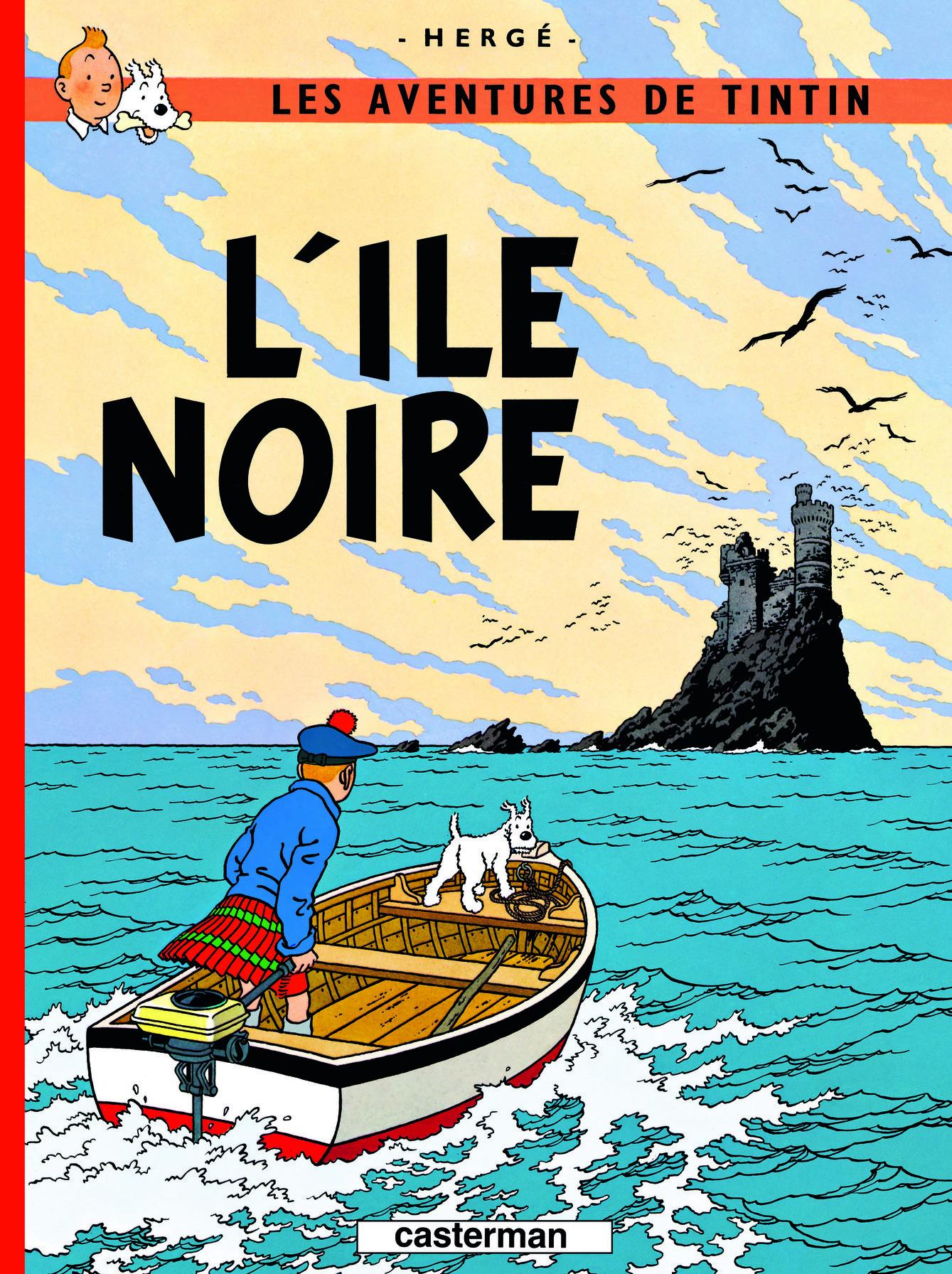 TINTIN - T07 - L' ILE NOIRE