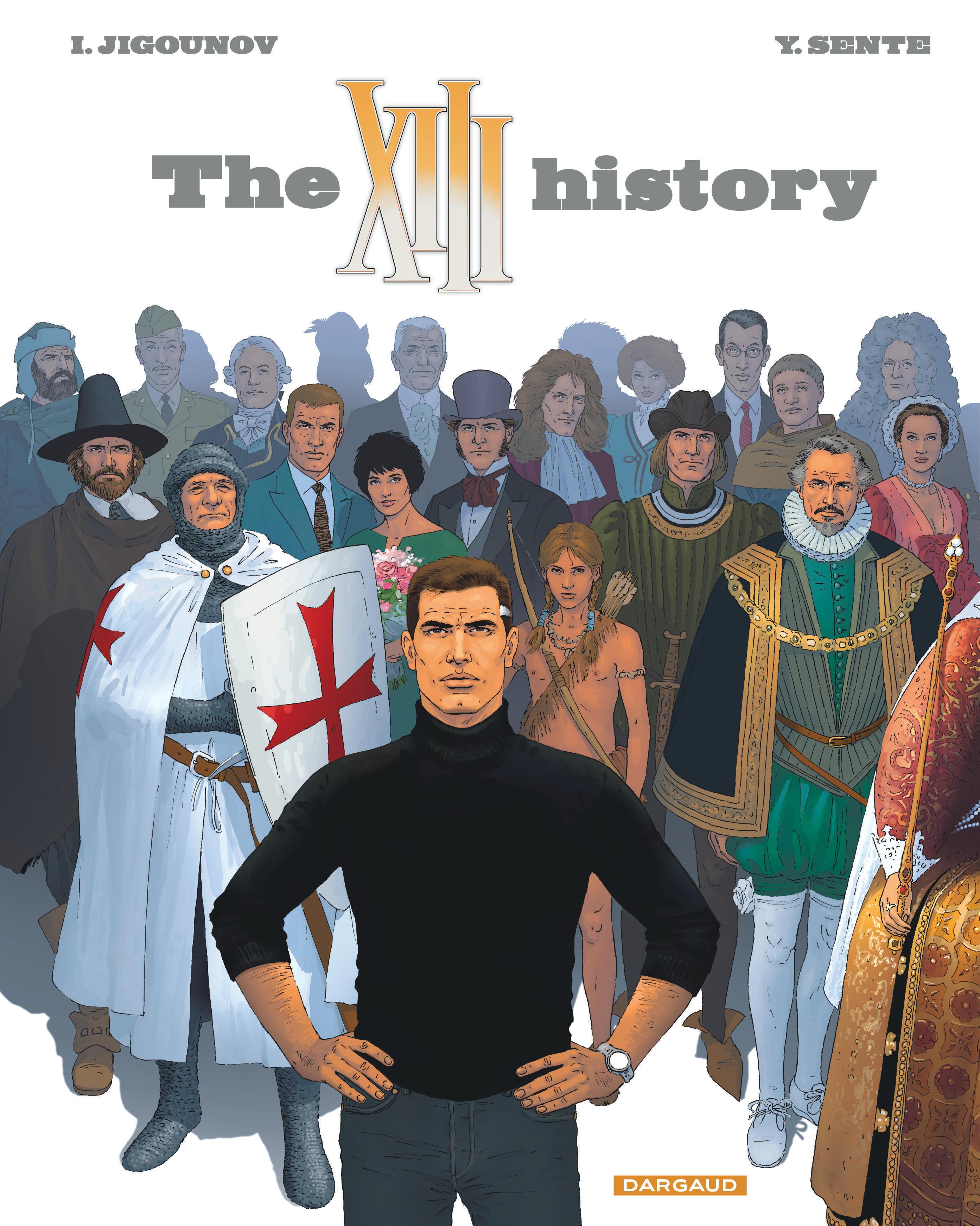 TREIZE (XIII) - XIII  - TOME 25 - THE XIII HISTORY