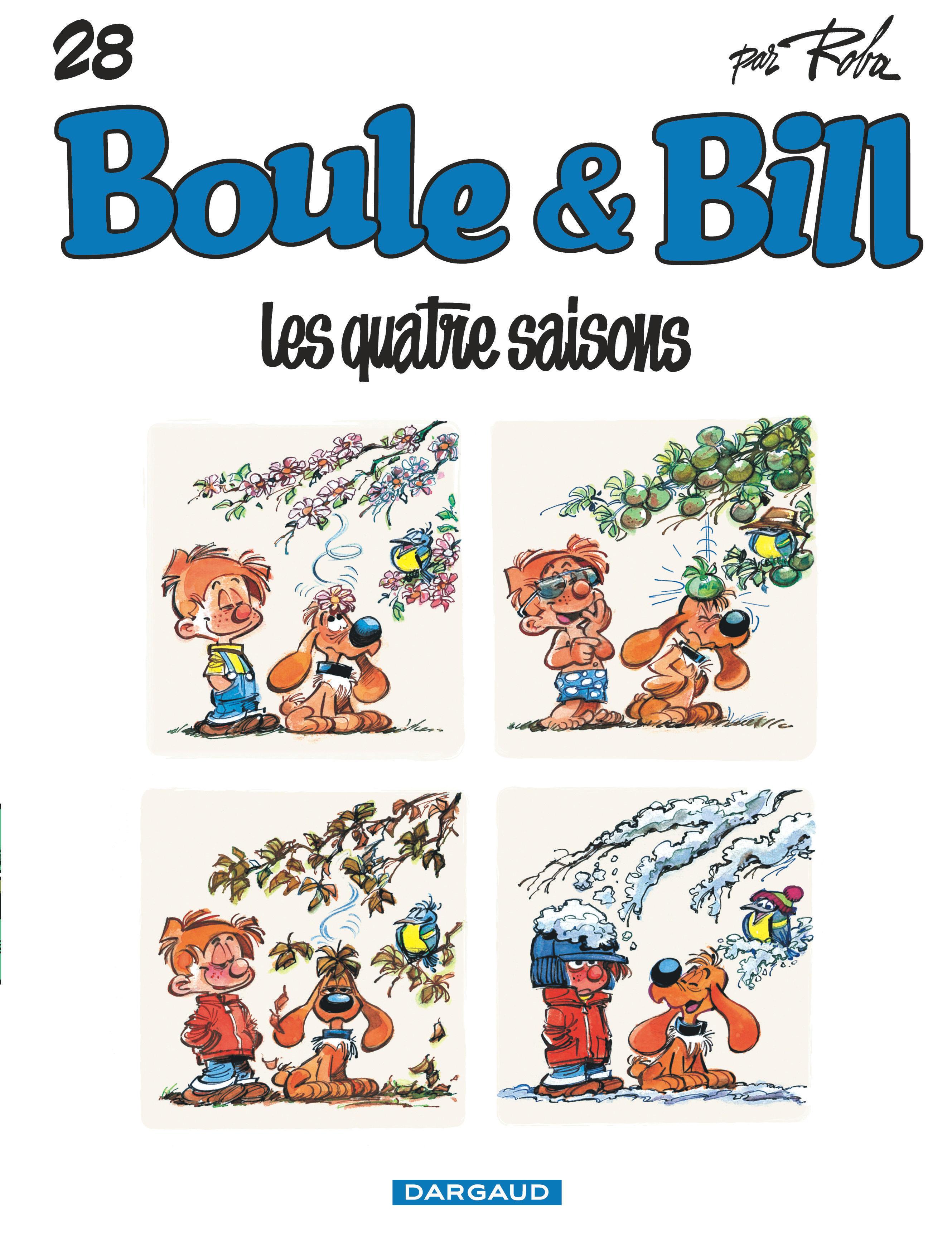 BOULE & BILL - TOME 28 - LES QUATRE SAISONS (28)