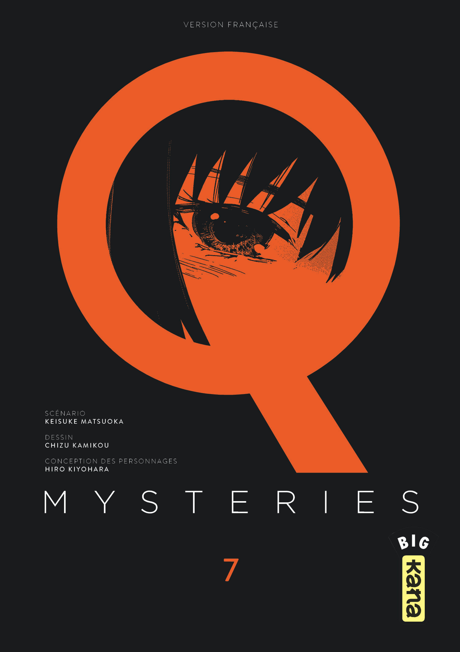 Q MYSTERIES - TOME 7