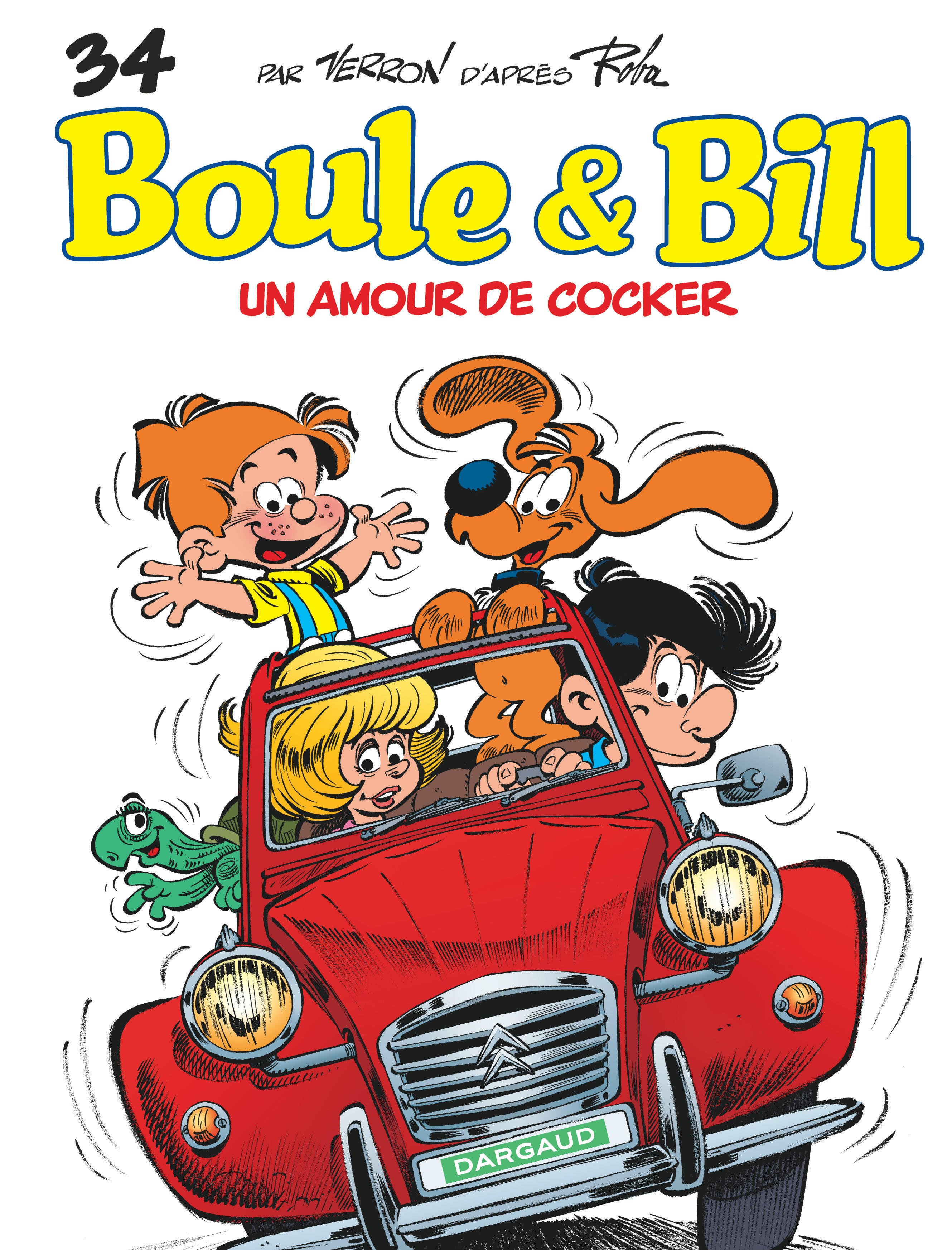 BOULE & BILL - TOME 34 - UN AMOUR DE COCKER (34)