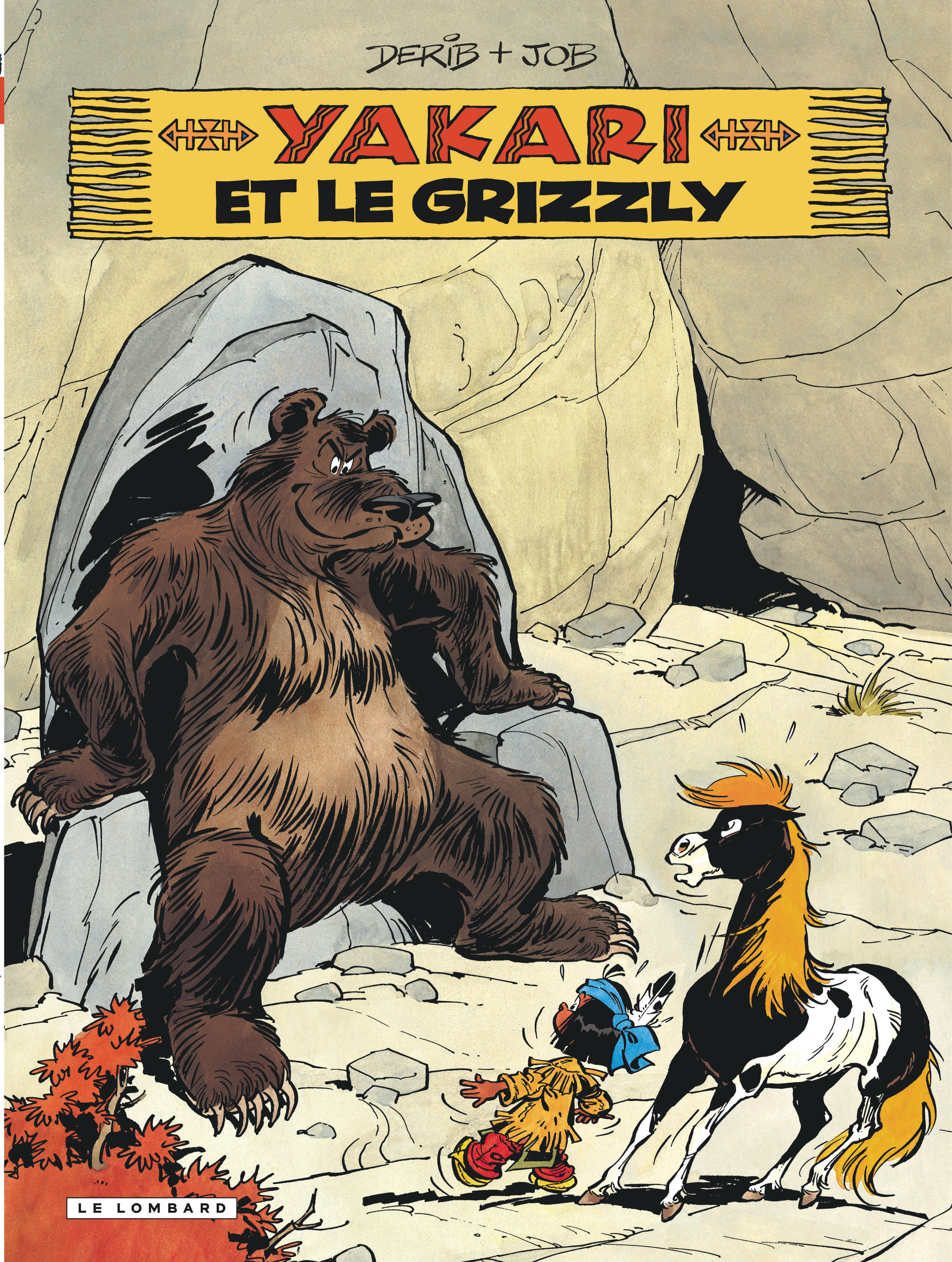 YAKARI - TOME 5 - YAKARI ET LE GRIZZLY (VERSION 2012)