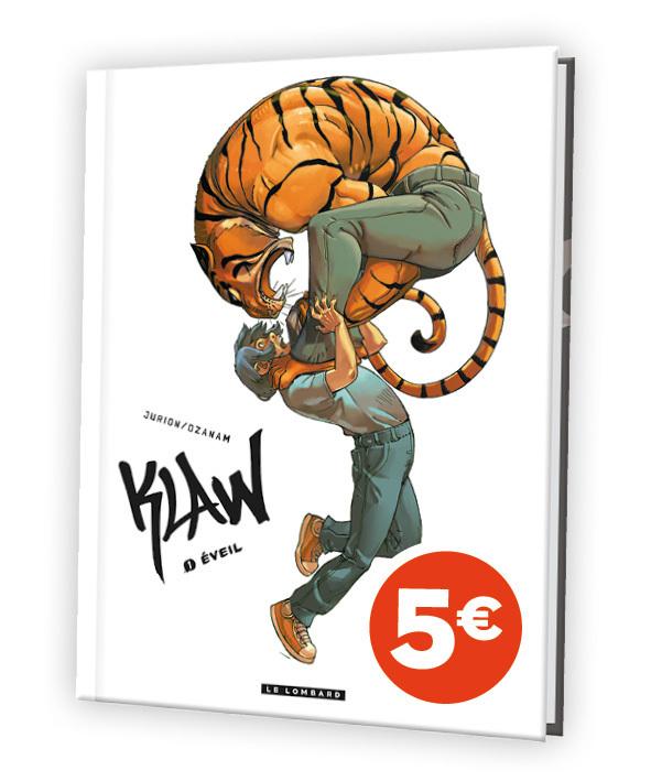 KLAW - TOME 1 - EVEIL (VERSION A 5 EUROS)