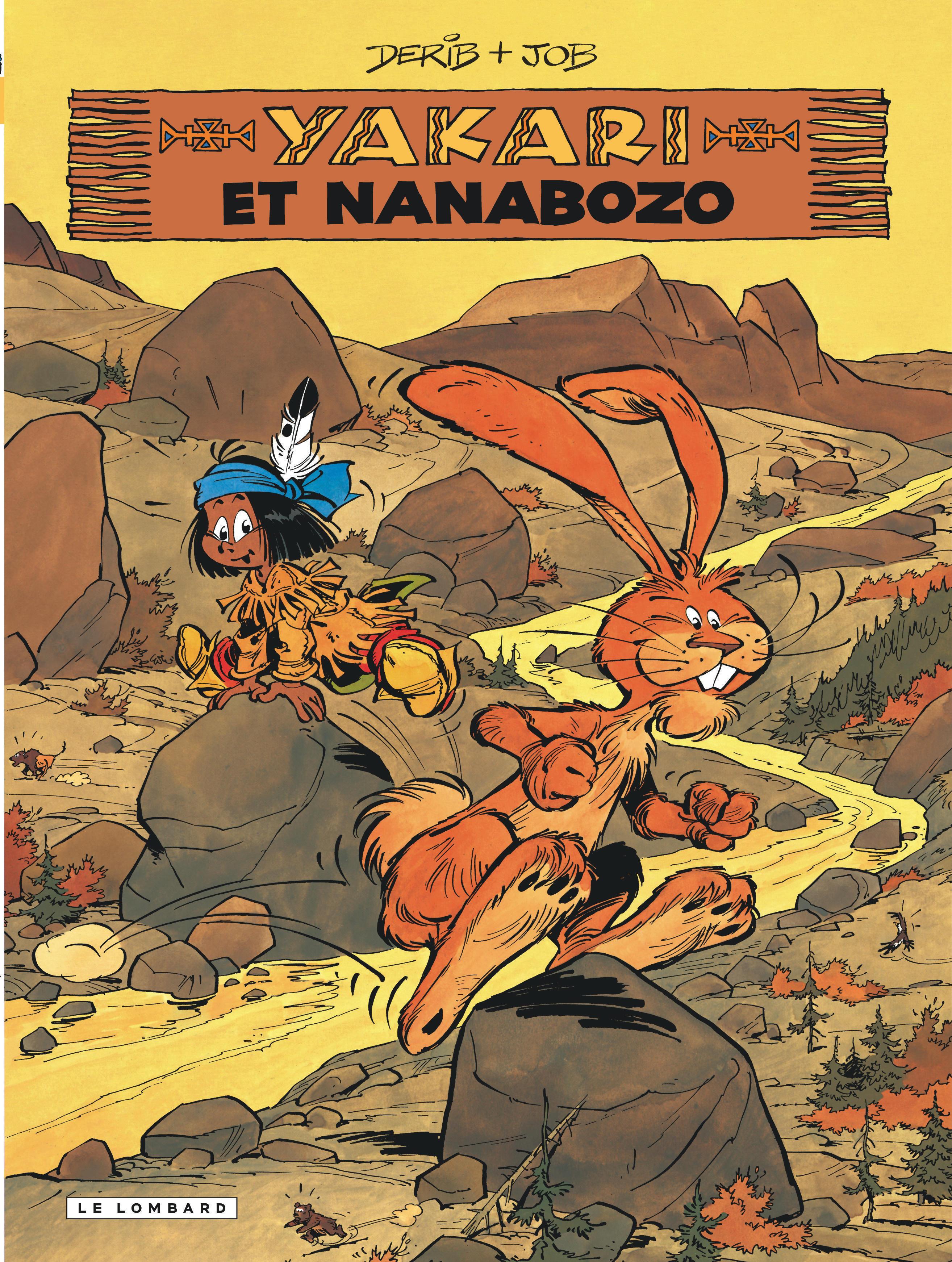 YAKARI - TOME 4 - YAKARI ET NANABOZO (VERSION 2013)