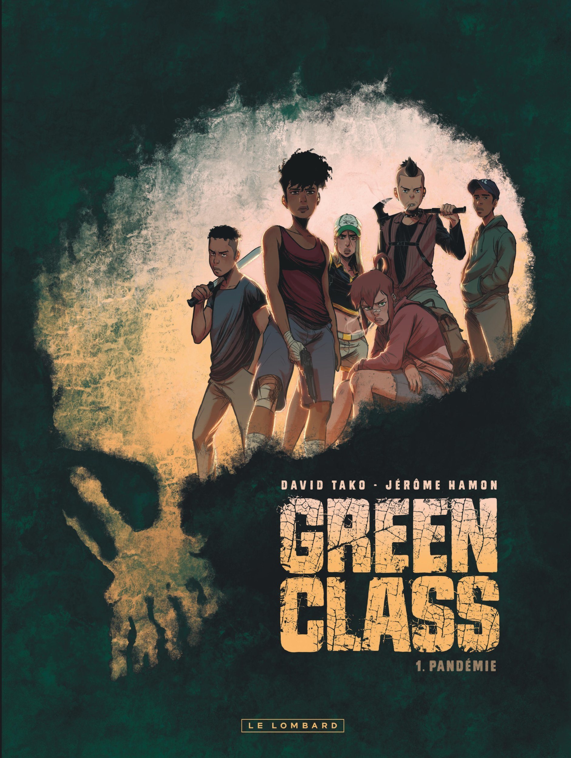 GREEN CLASS - TOME 1 - PANDEMIE