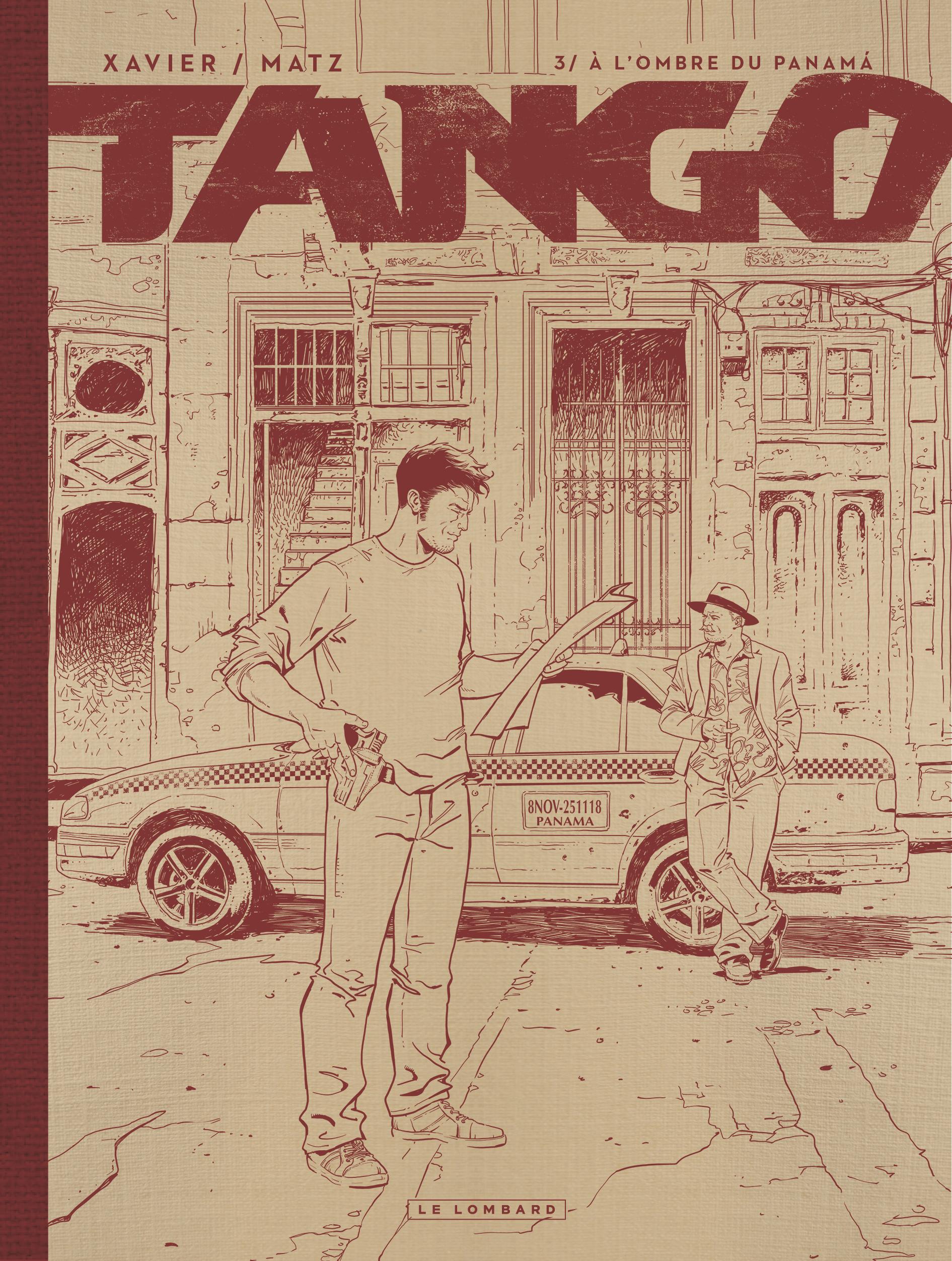 TANGO - TOME 3 - A L'OMBRE DU PANAMA EDITION NOIR&BLANC