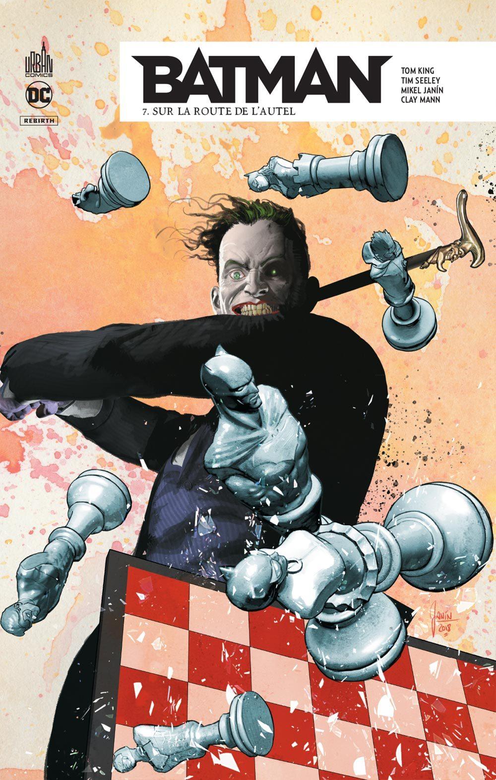 DC REBIRTH - BATMAN REBIRTH TOME 7