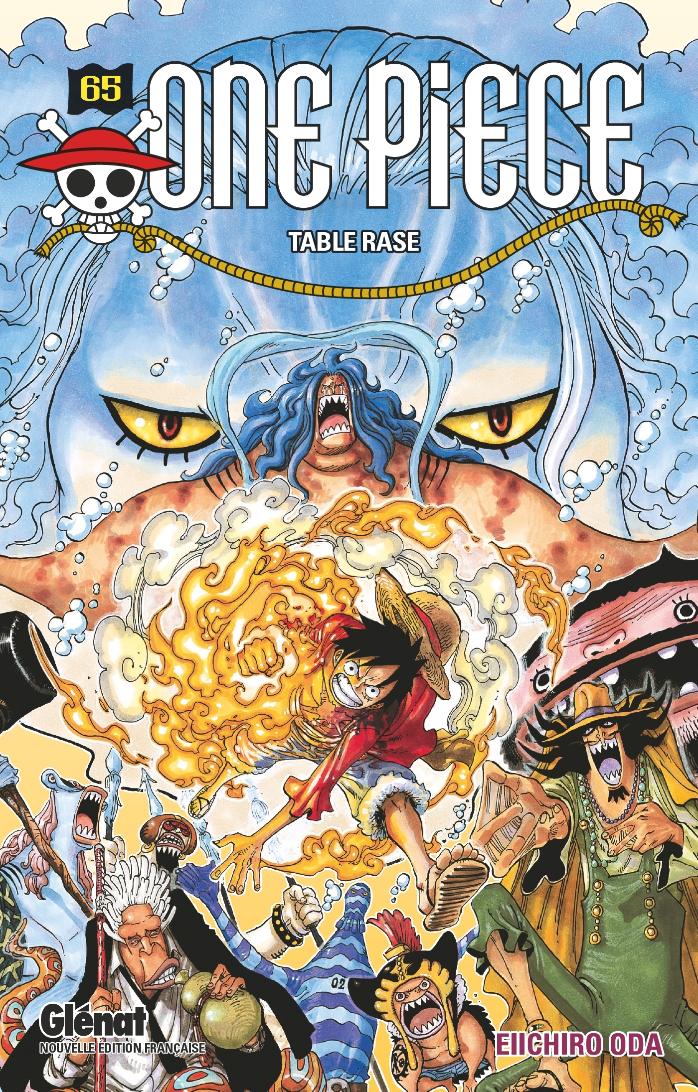 ONE PIECE - EDITION ORIGINALE - TOME 65 - TABLE RASE