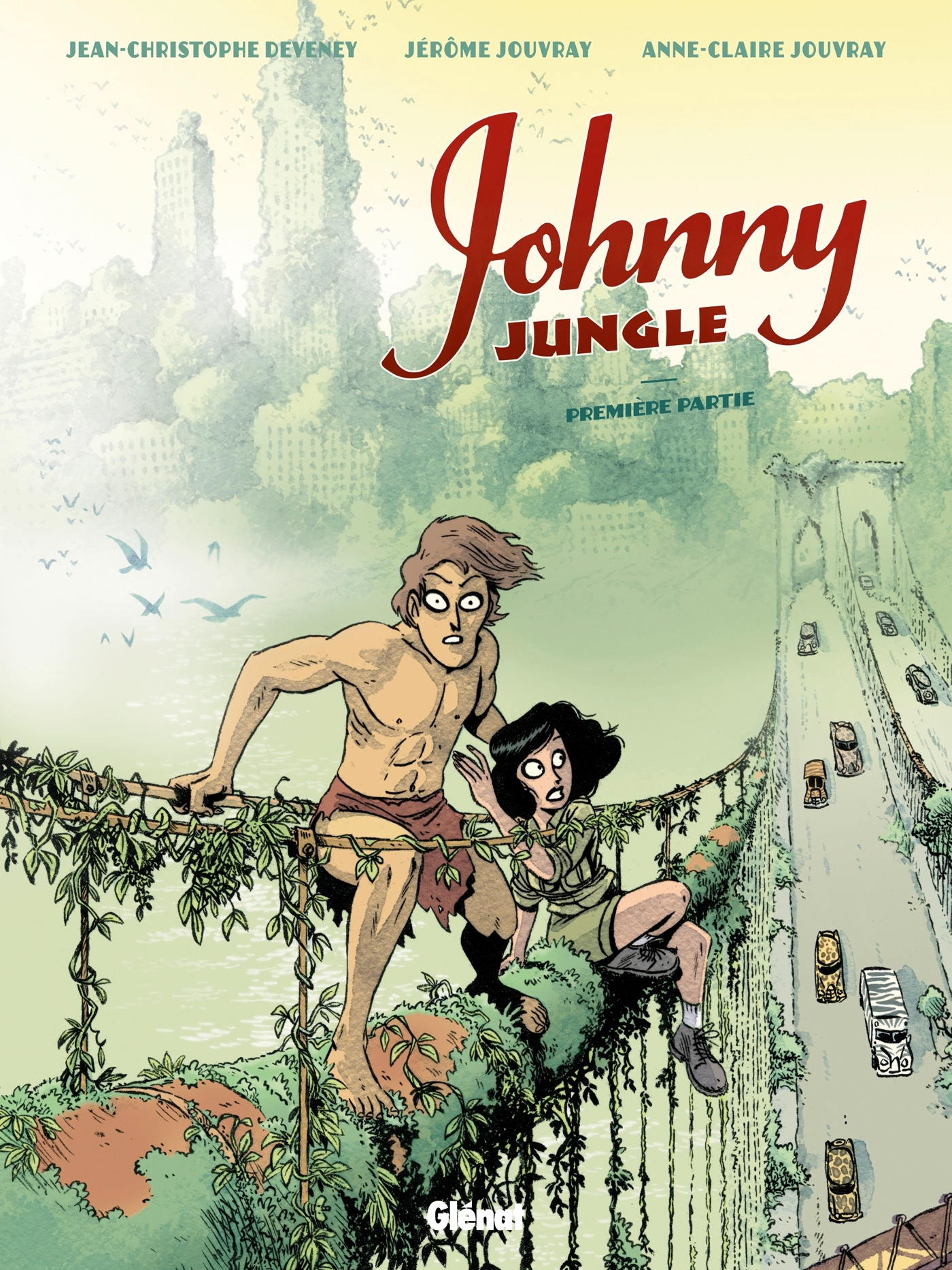 JOHNNY JUNGLE - T01 - JOHNNY JUNGLE - PREMIERE PARTIE