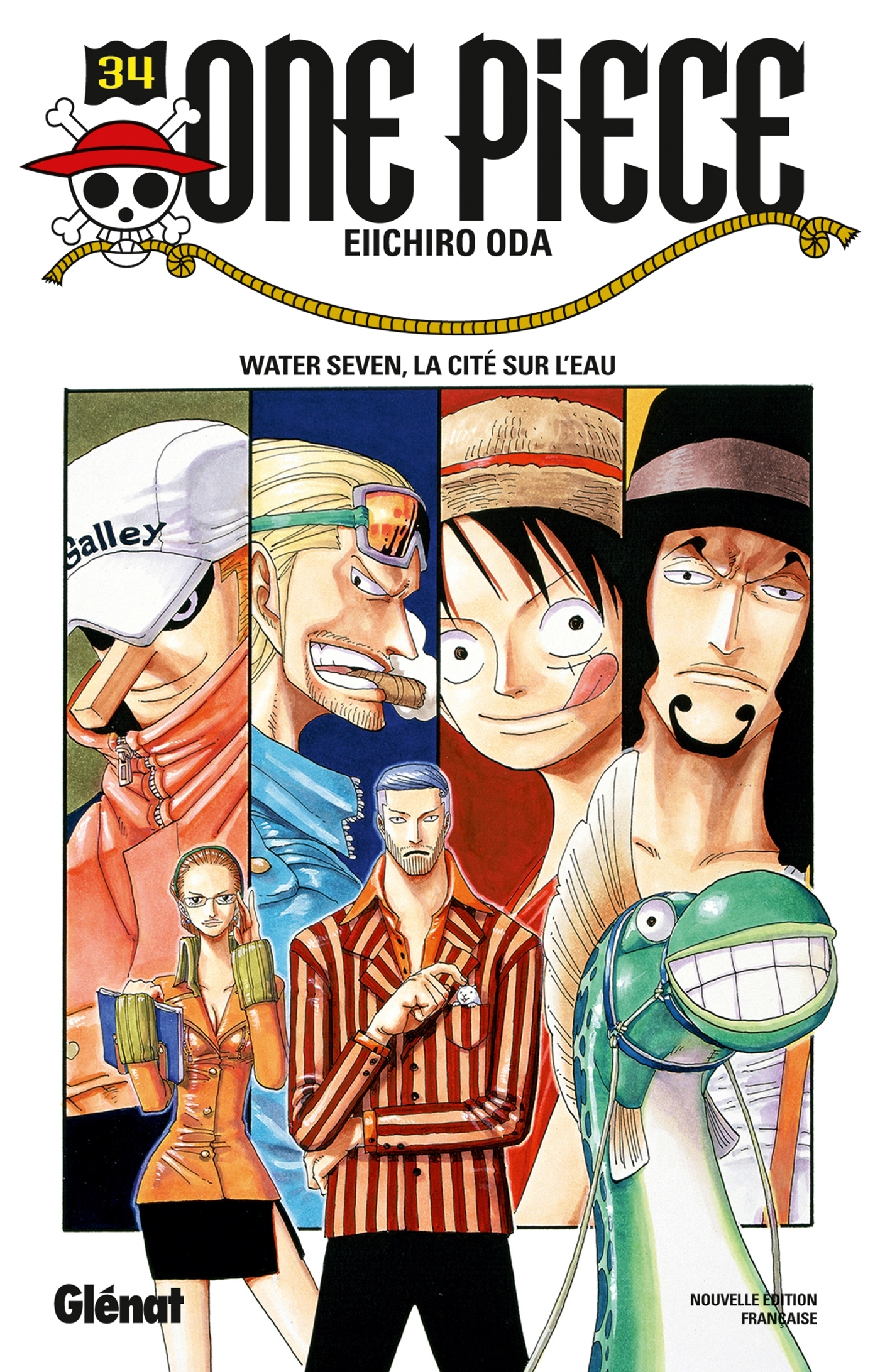ONE PIECE - EDITION ORIGINALE - TOME 34 - WATER SEVEN, LA CITE SUR L'EAU