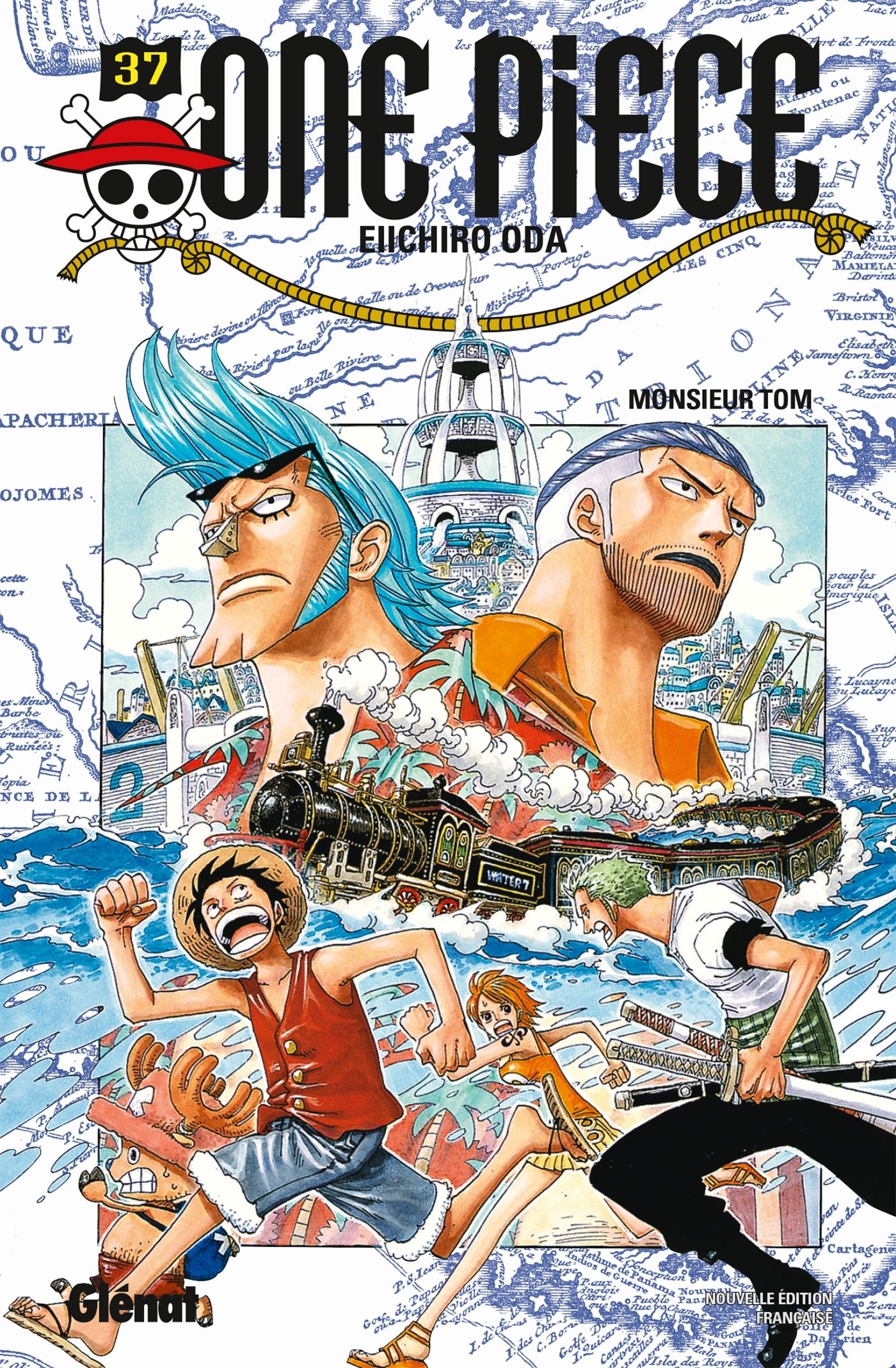 ONE PIECE - EDITION ORIGINALE - TOME 37 - MONSIEUR TOM