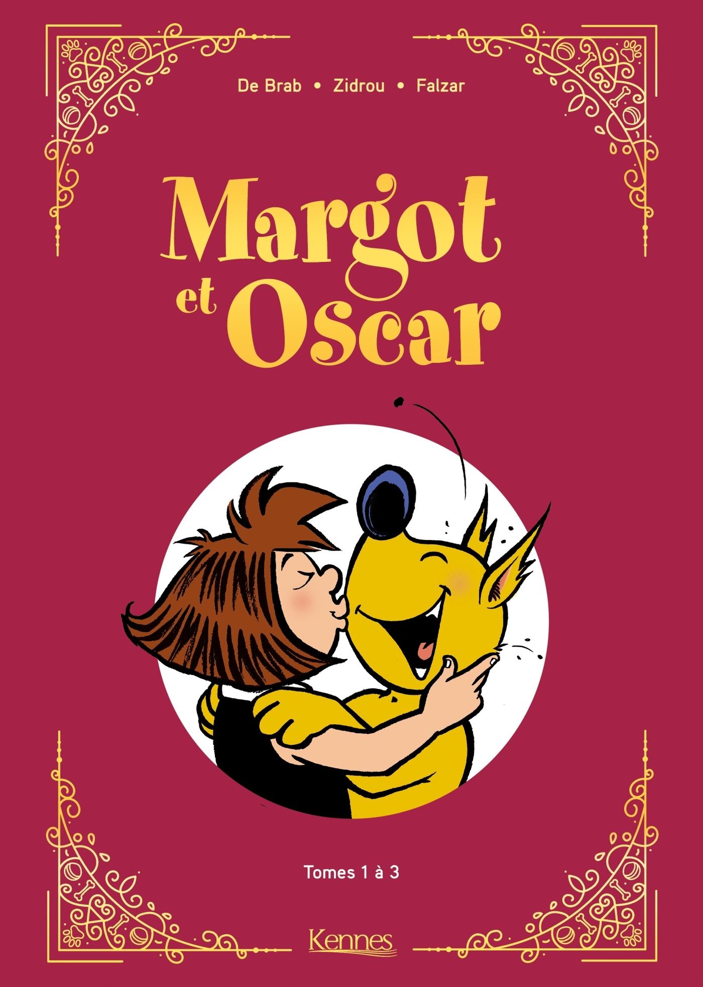 MARGOT ET OSCAR - RECUEIL  T01 A T03 - MARGOT ET OSCAR T01 - T03 - RECUEIL