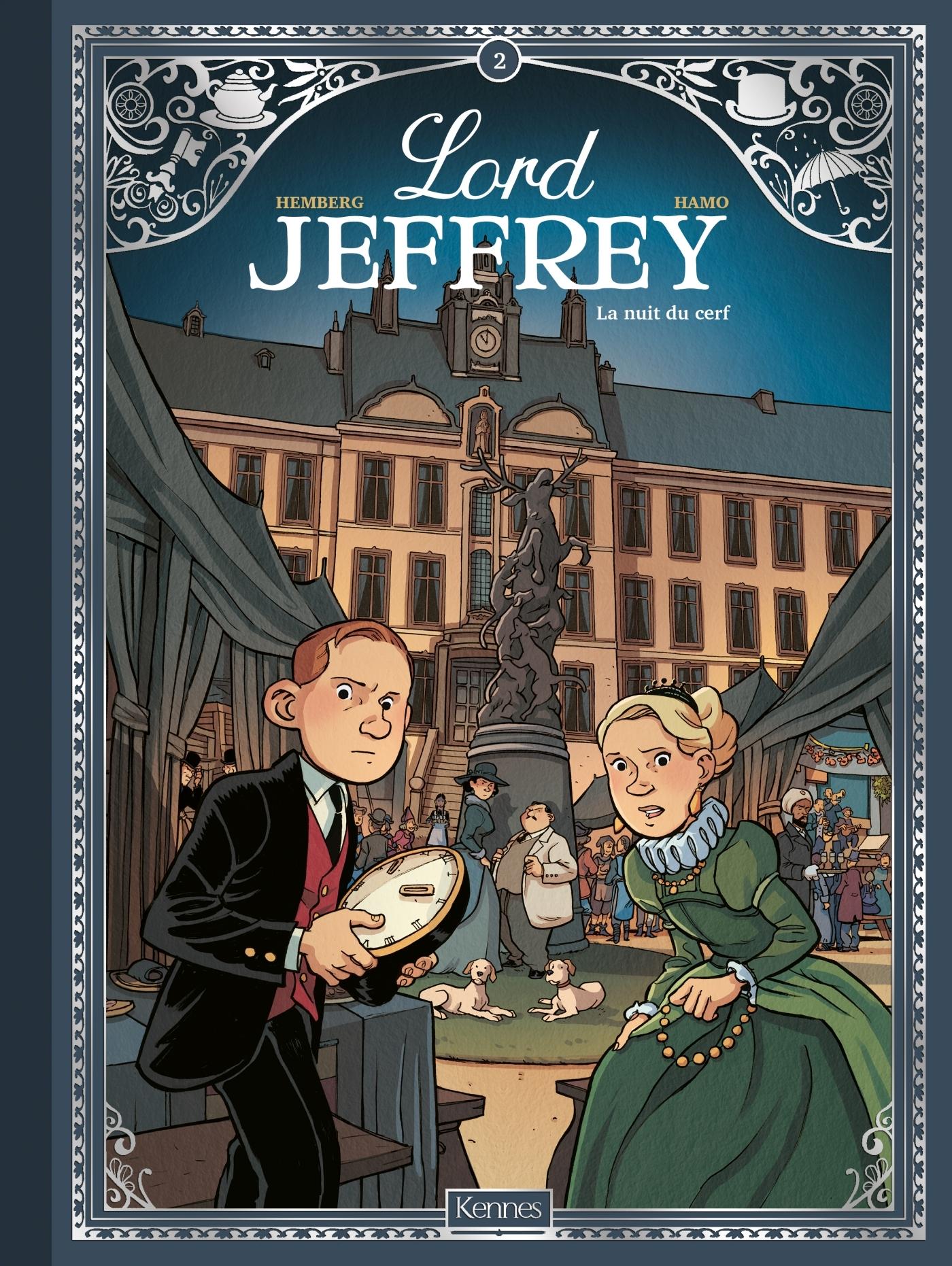 LORD JEFFREY T02 - LA NUIT DU CERF