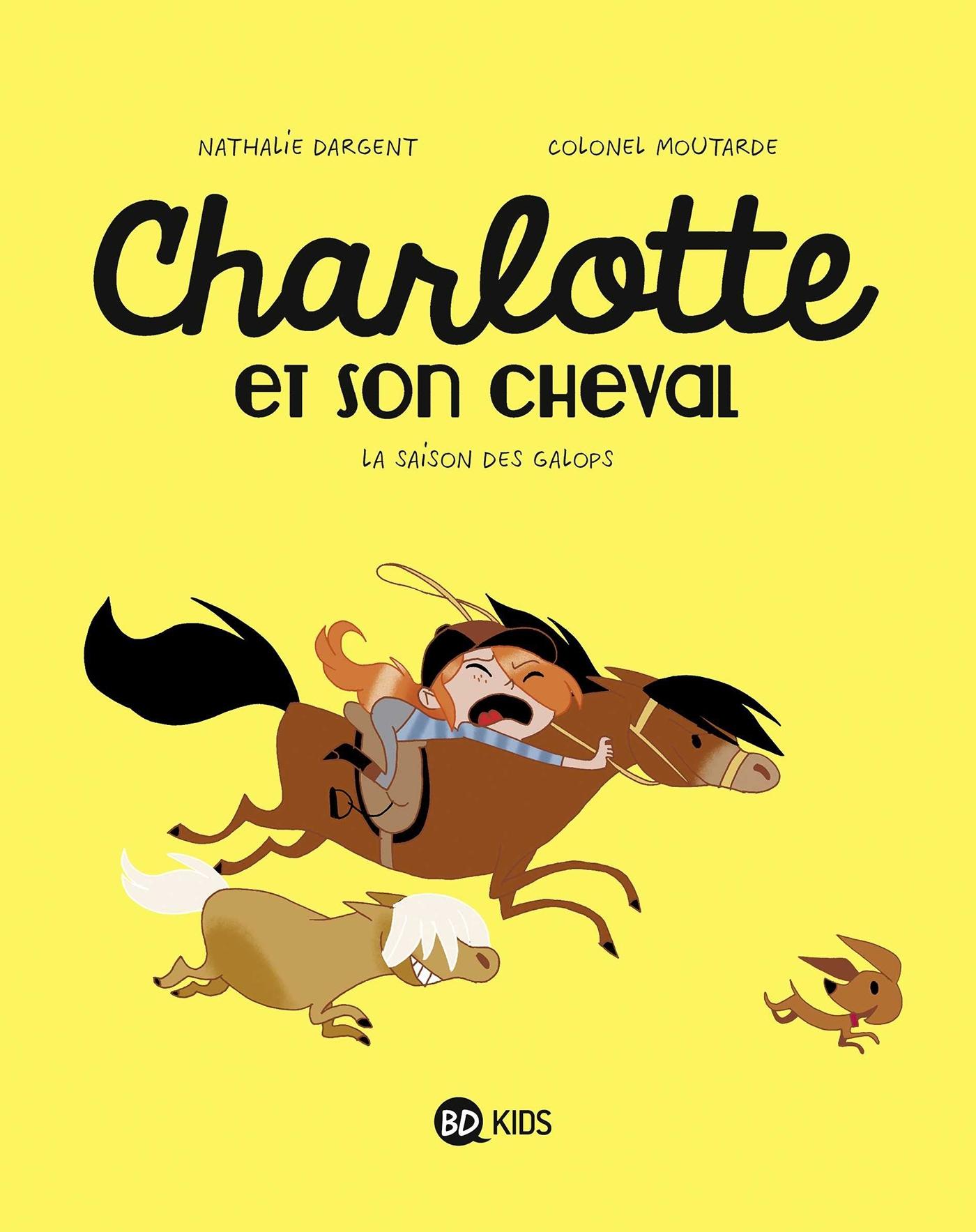 CHARLOTTE ET SON CHEVAL, TOME 02 - LA SAISON DES GALOPS