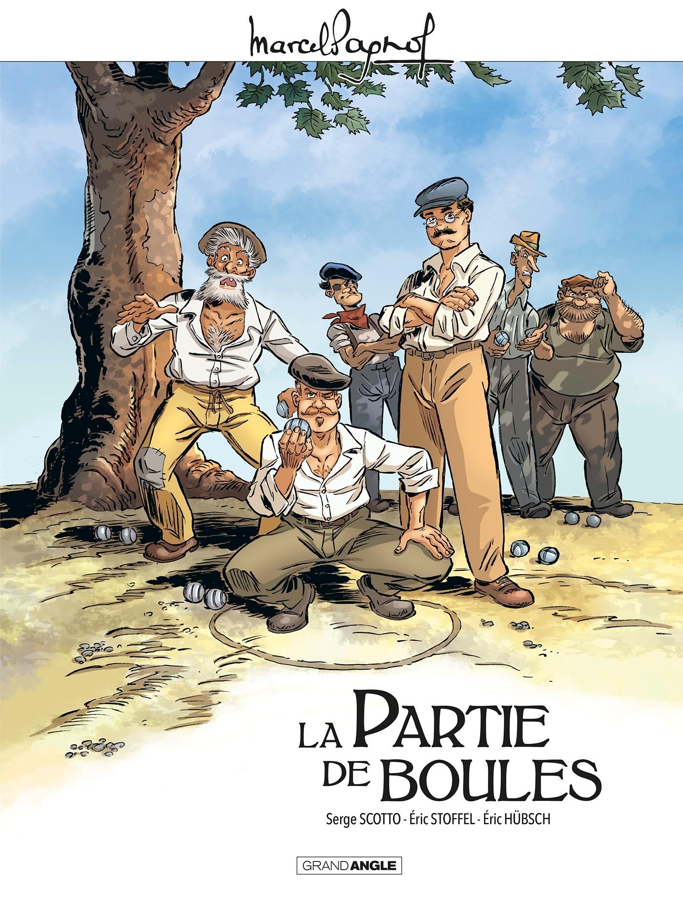 M. PAGNOL EN BD : LA PARTIE DE BOULES - HISTOIRE COMPLETE