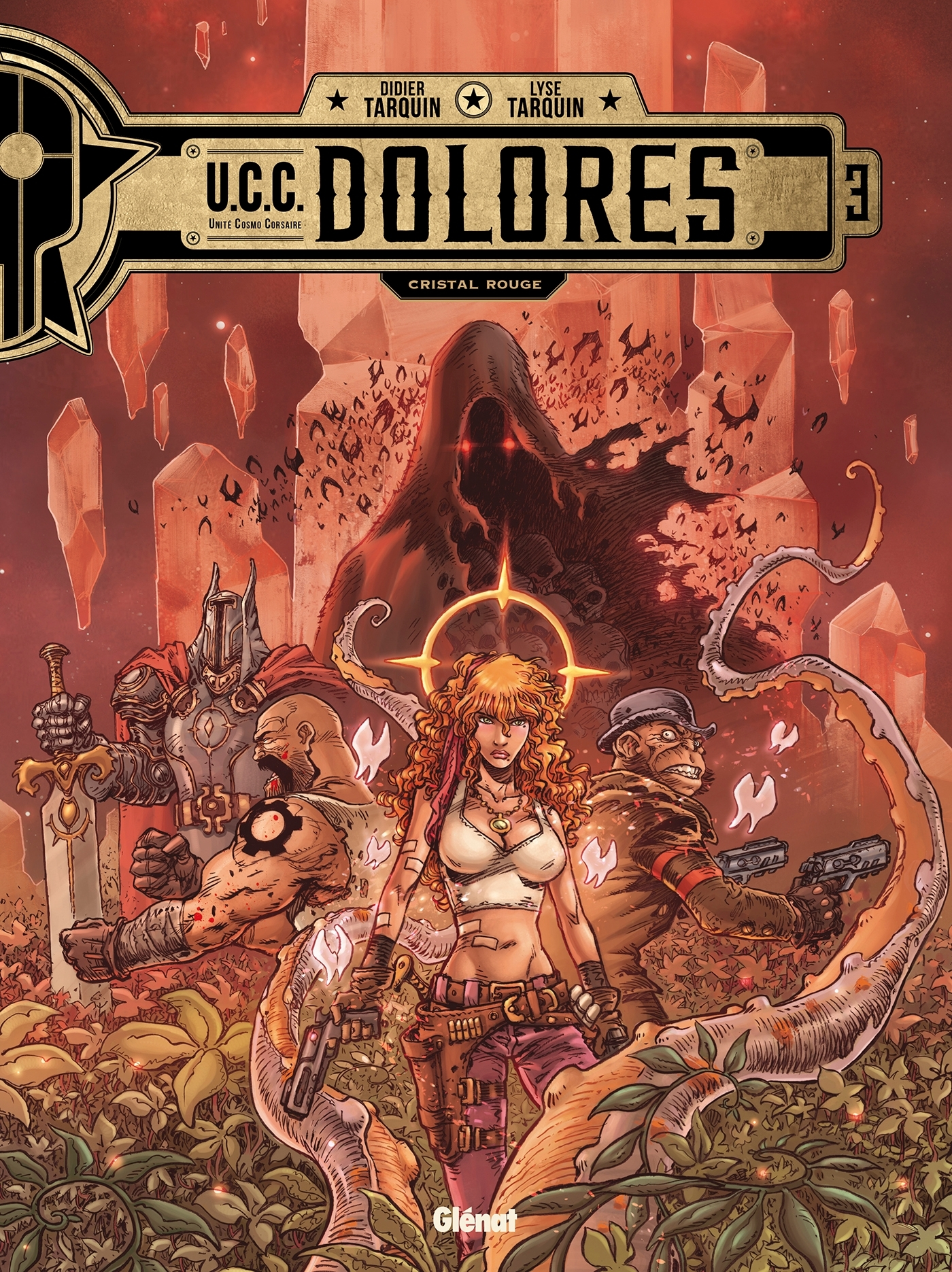 UCC DOLORES - TOME 03 - CRISTAL ROUGE